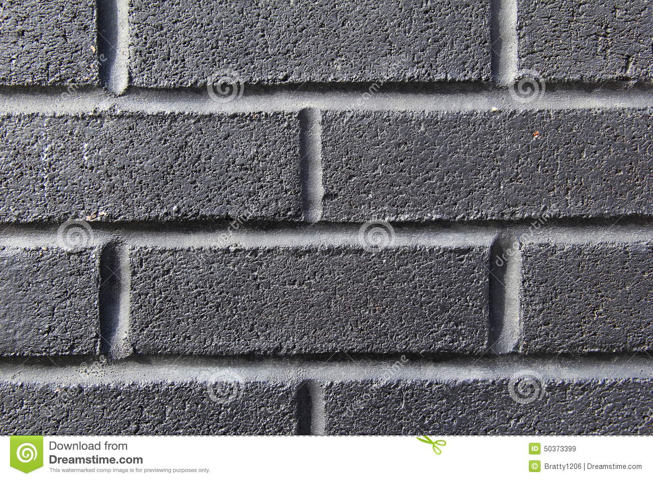Mur De Briques Gris Fonc Photo Stock Image 50373399