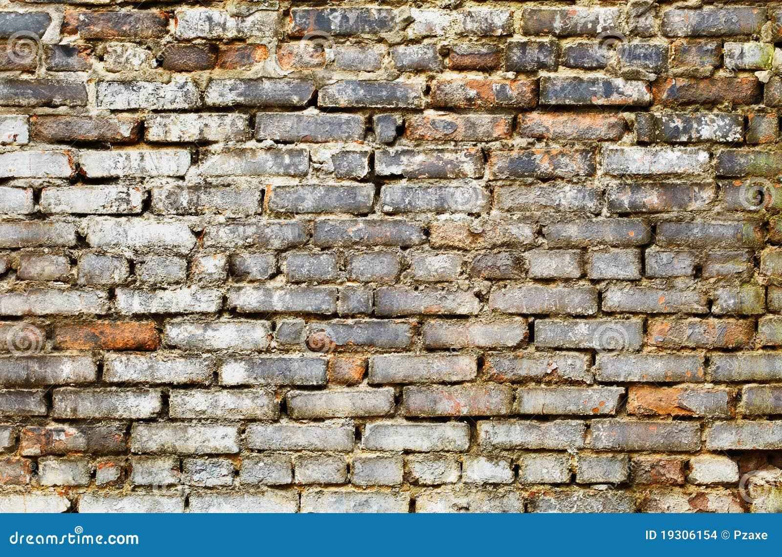 Mur de briques modifié - fond grunge