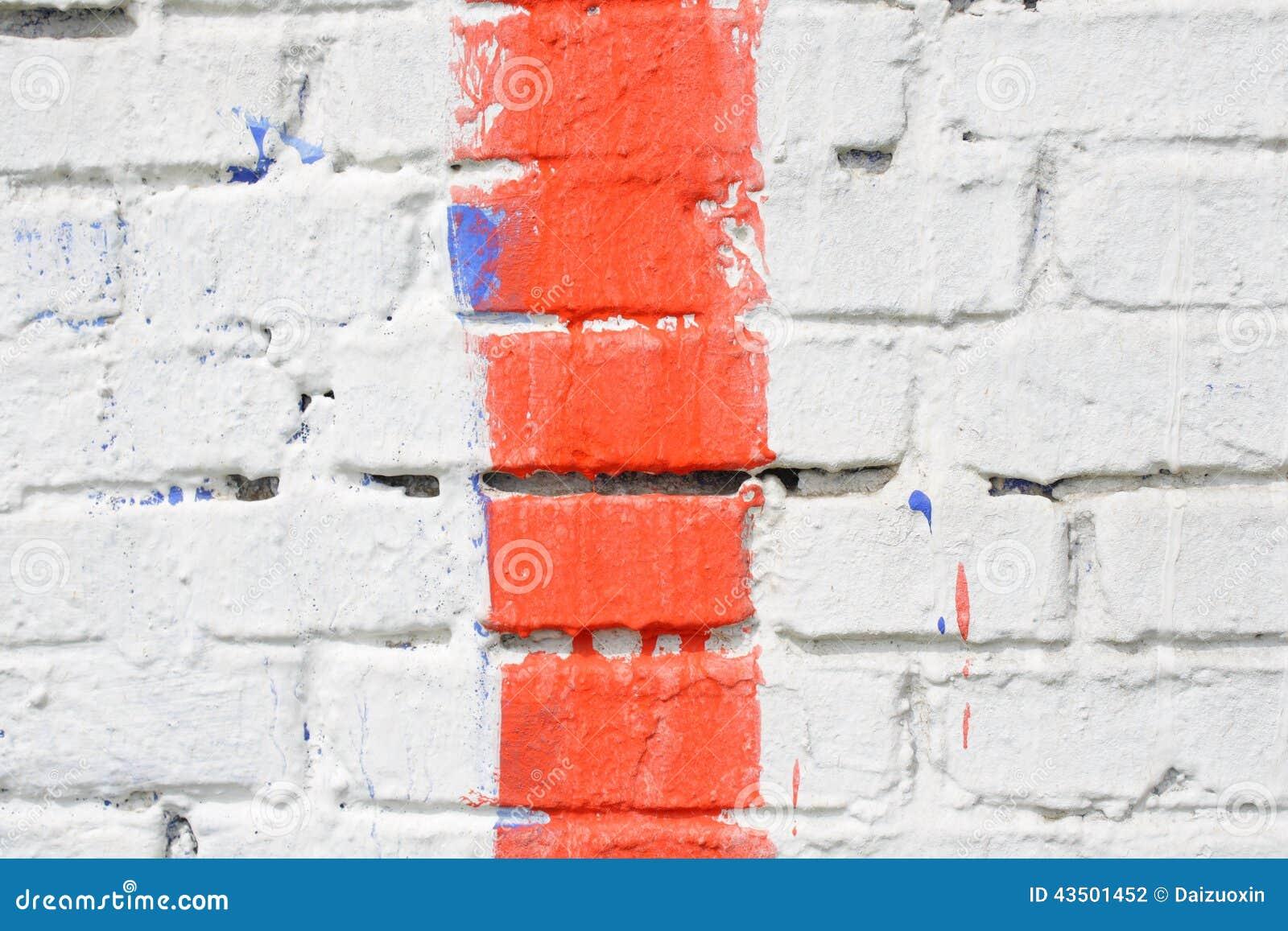 mur de briques multicolore photo stock image 43501452. Black Bedroom Furniture Sets. Home Design Ideas