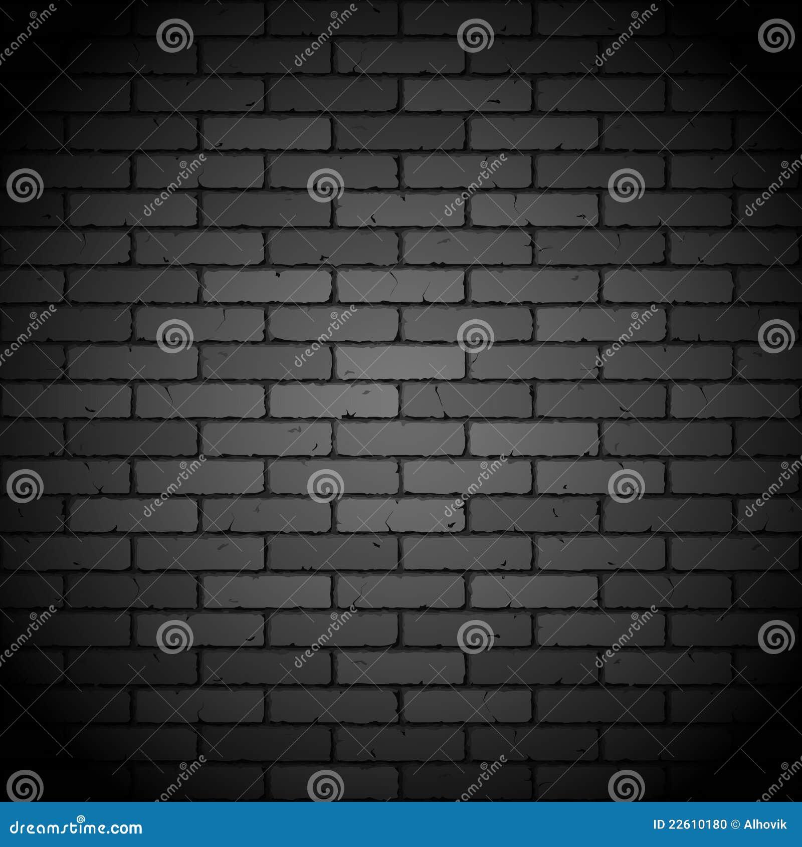 mur de briques noir photo stock image 22610180. Black Bedroom Furniture Sets. Home Design Ideas