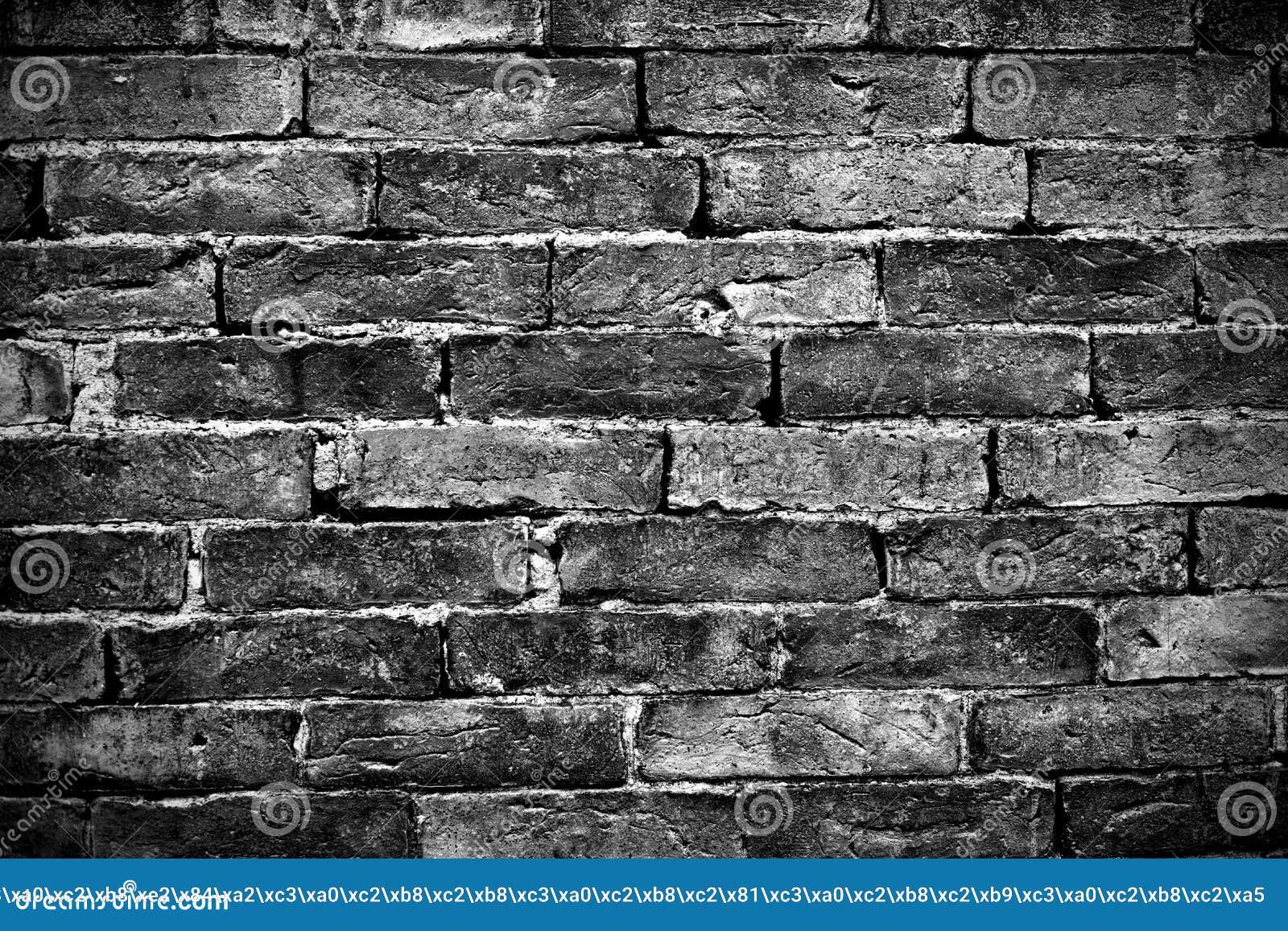 mur de briques noir images libres de droits image 25259829. Black Bedroom Furniture Sets. Home Design Ideas