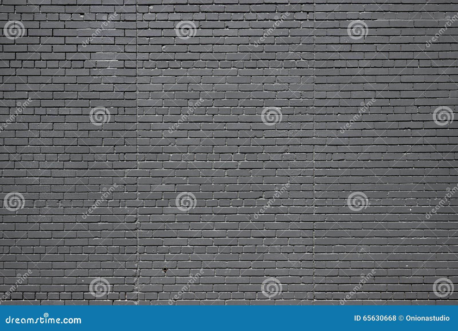 Mur de briques noir