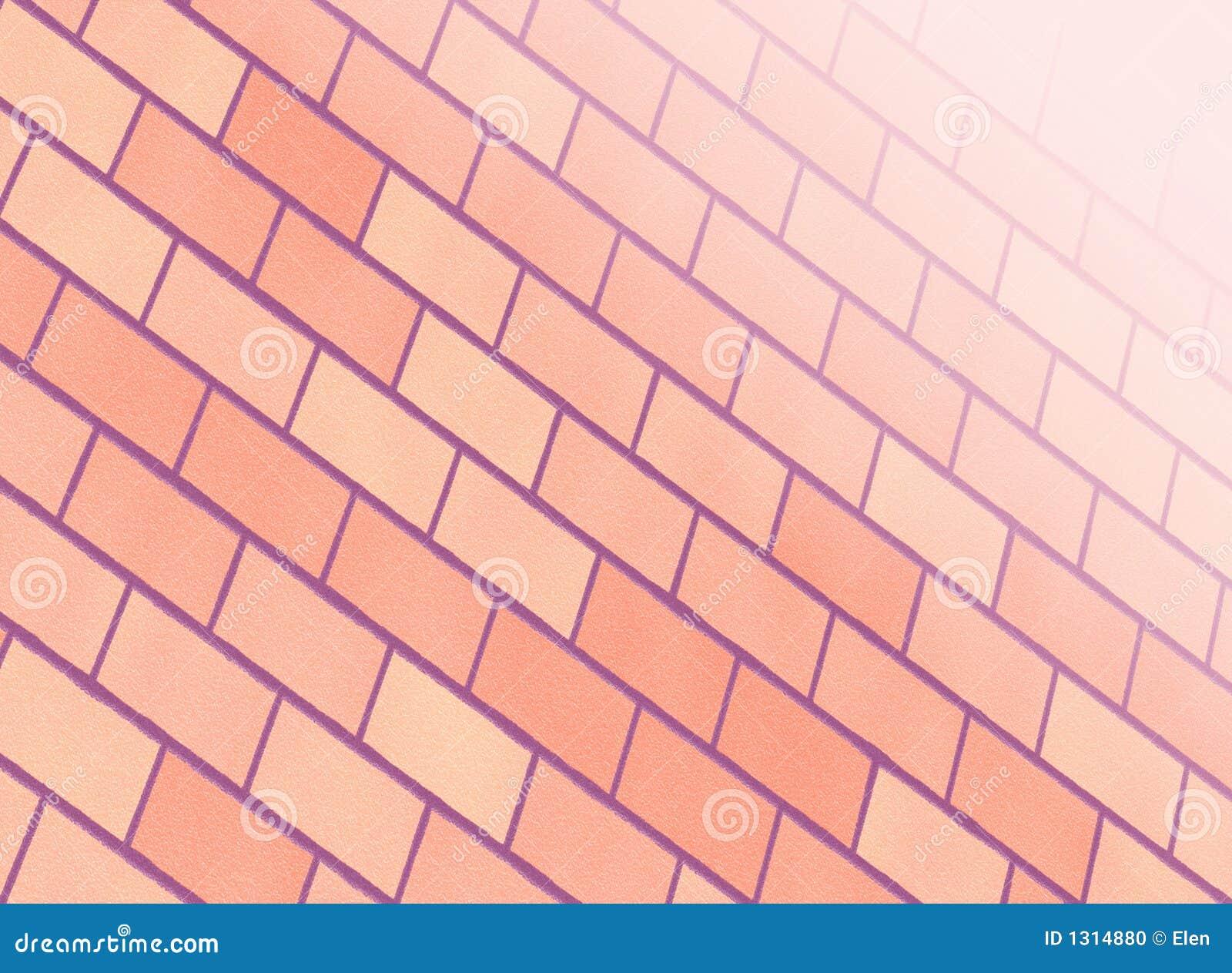 mur de briques rose photo stock image 1314880. Black Bedroom Furniture Sets. Home Design Ideas