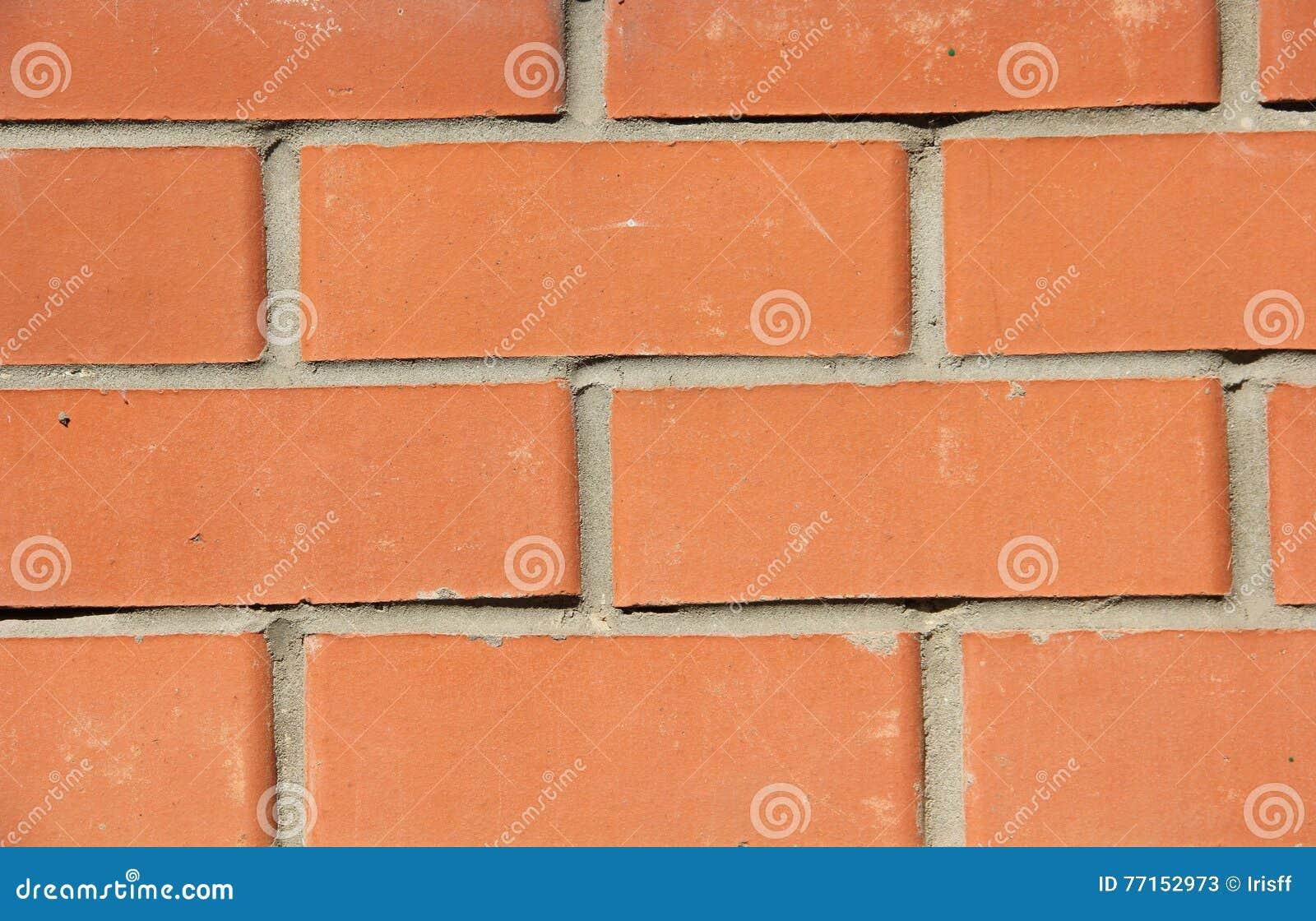 Mur de briques rouge, fond