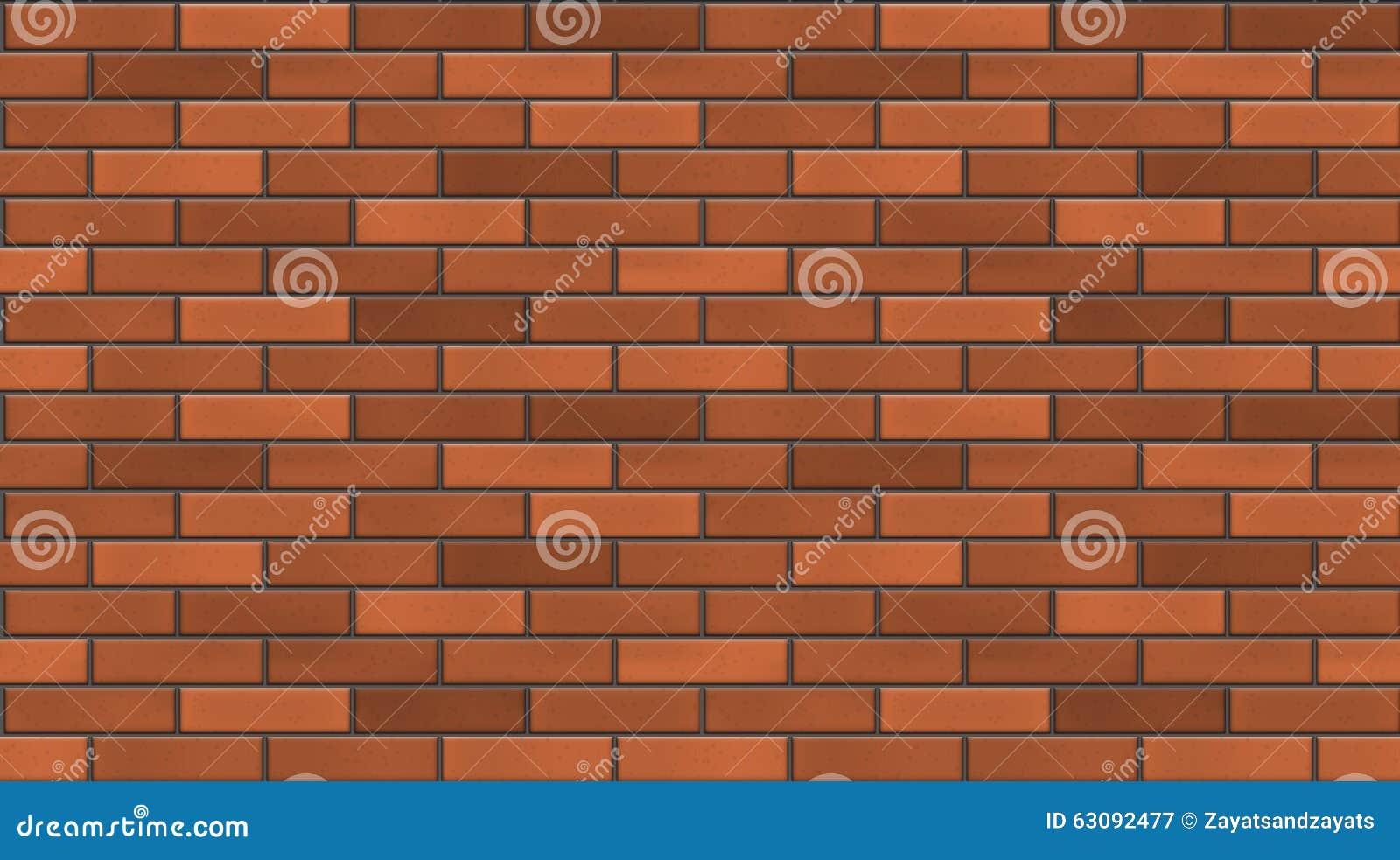 Download Mur de briques sans joint illustration de vecteur. Illustration du brique - 63092477