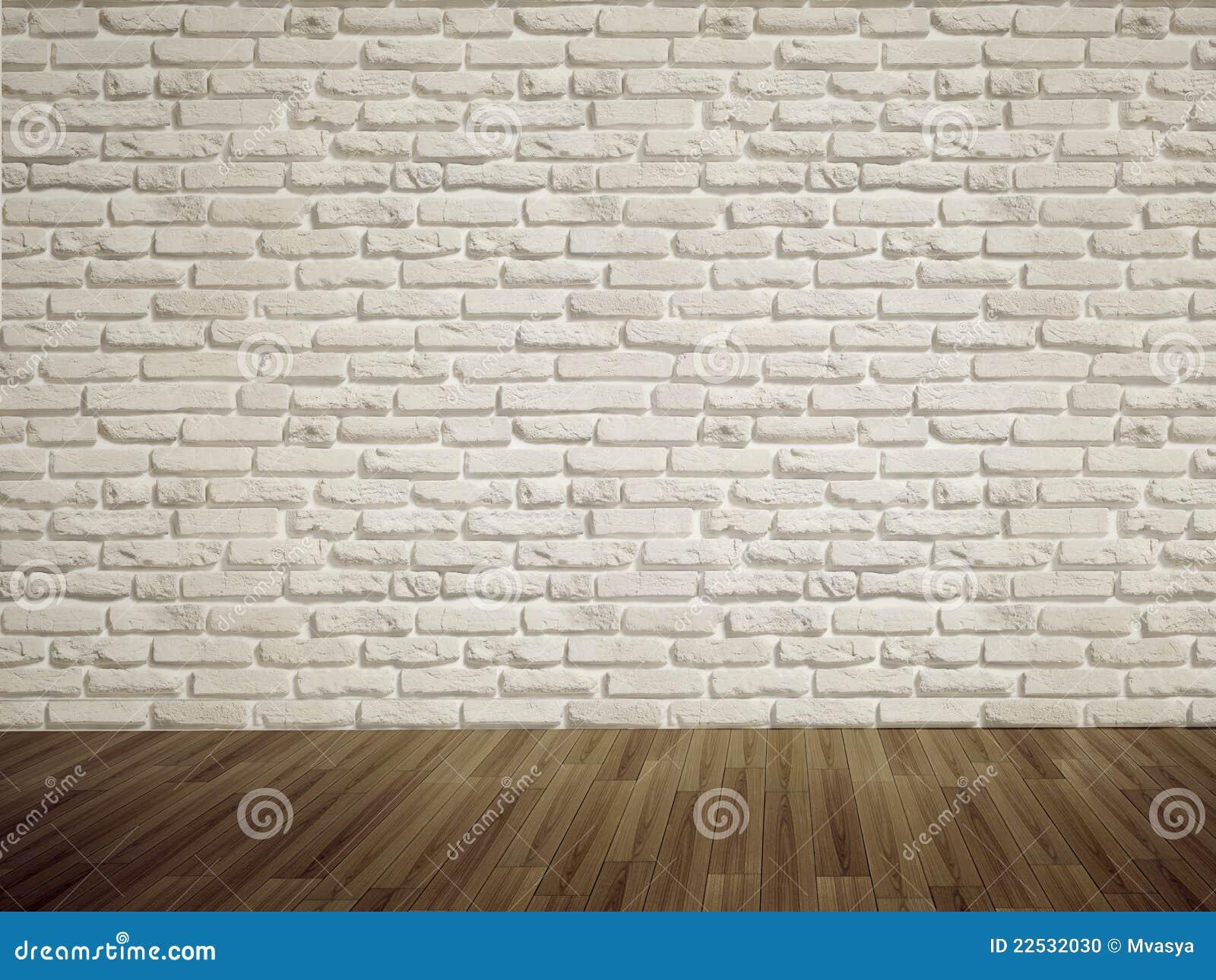 Mur de briques vide