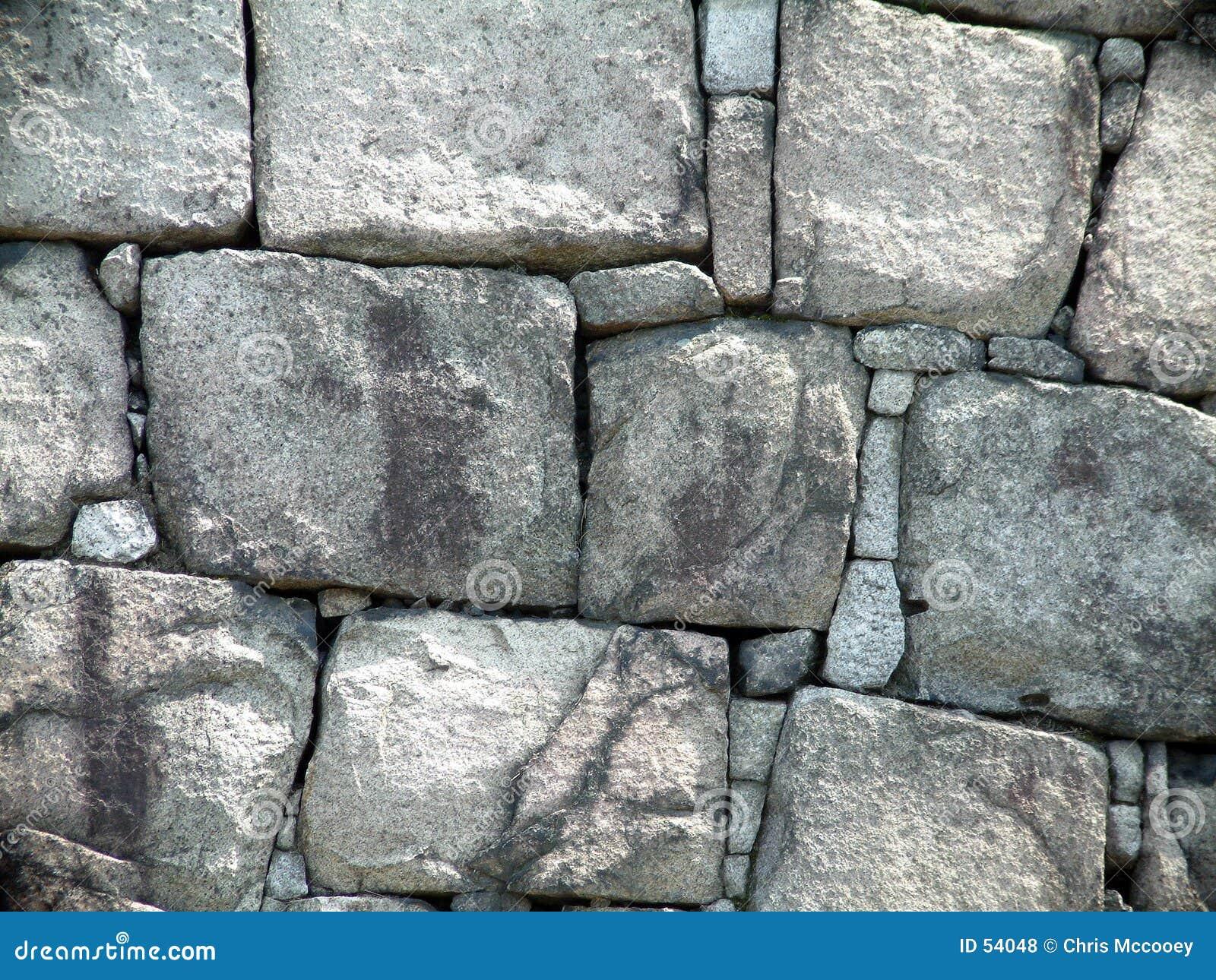 Download Mur de château photo stock. Image du roche, roches, aménagement - 54048