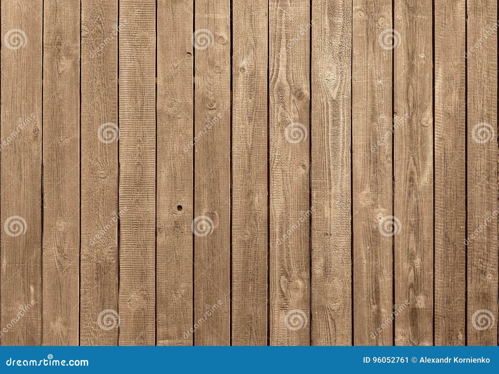 Mur de F fait de planches en bois