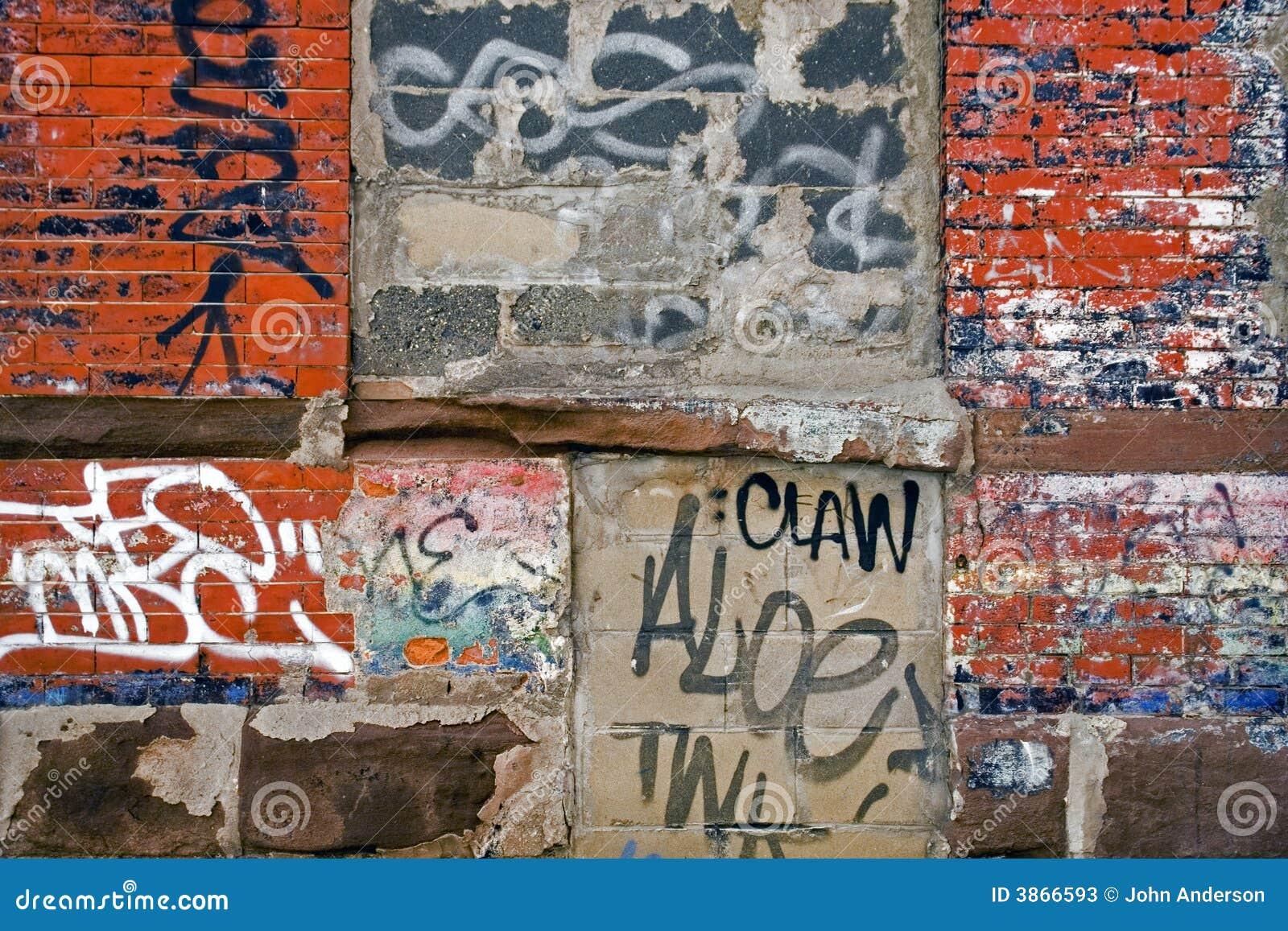 Mur De Graffiti Photos Stock Image 3866593