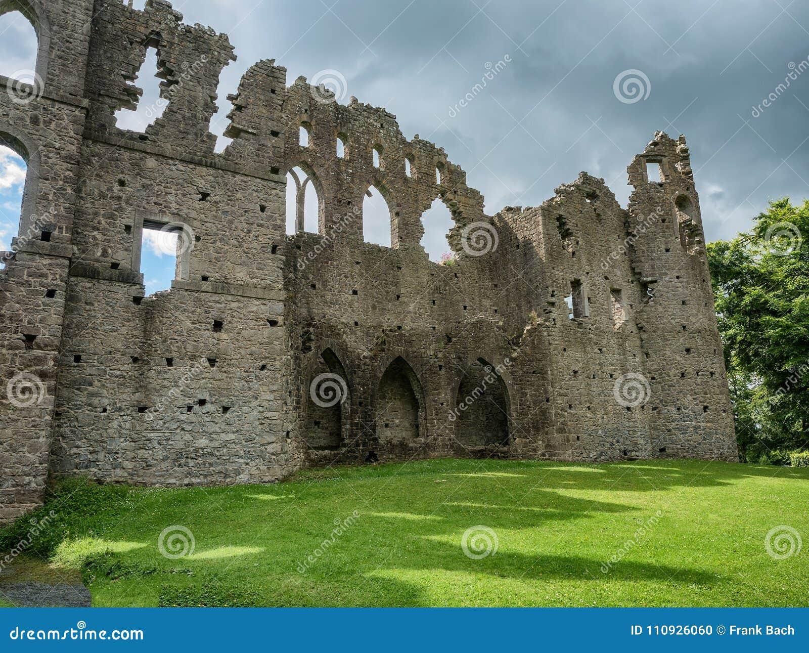Mur de Jelous de maison de belvédère, Irlande