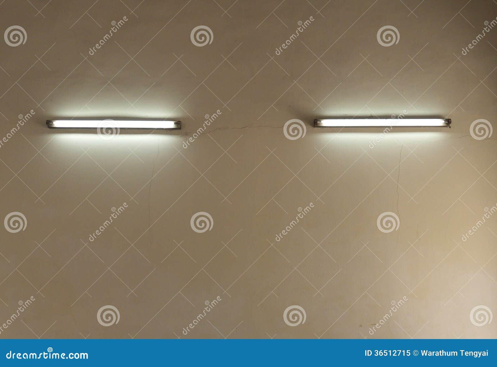 Mur de lampe électrique