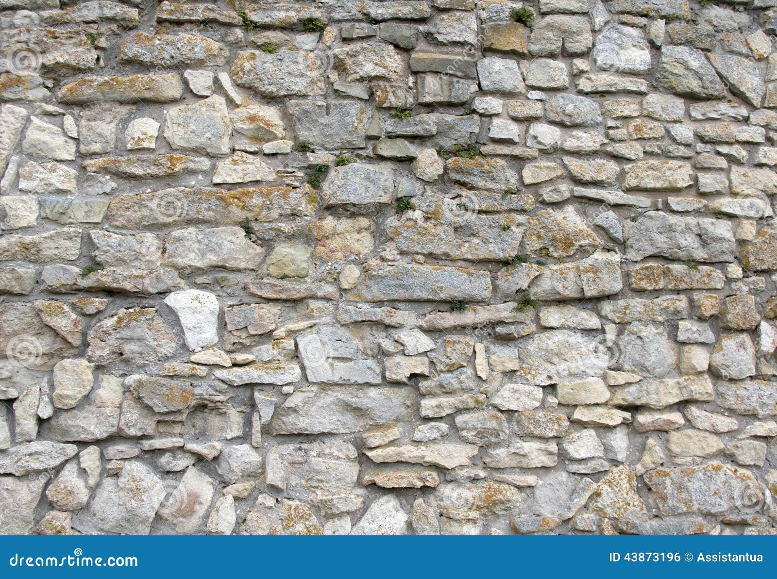 Mur de vieille texture de mur en pierre de pierres photo stock image 43873196 - Mur en pierres ap parentes ...