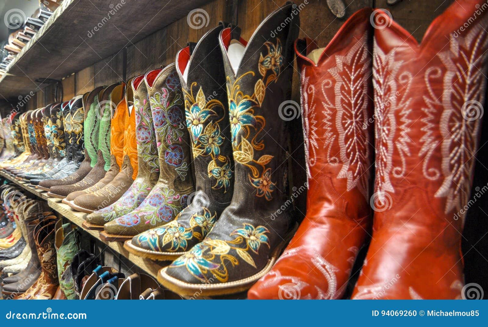 Mur des gaines de cowboy
