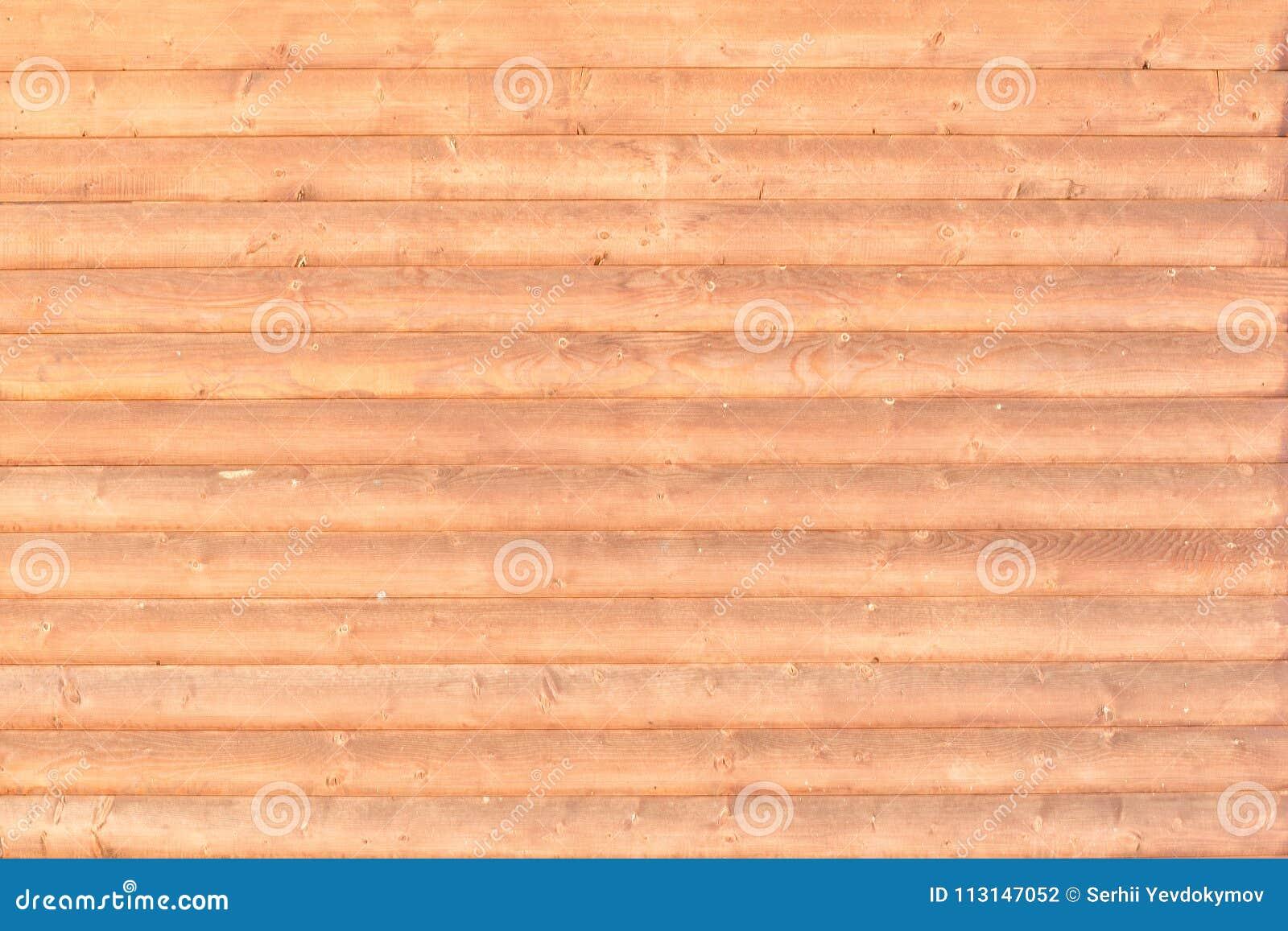 Mur des logs Disposition horizontale Plan rapproché