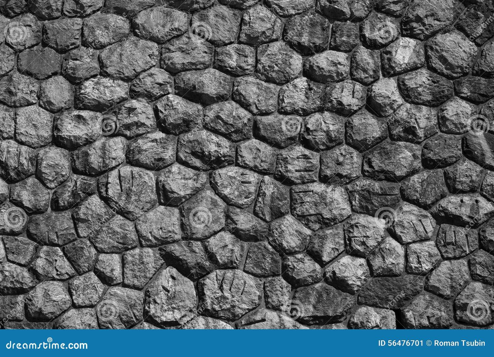 Mur des pierres comme texture