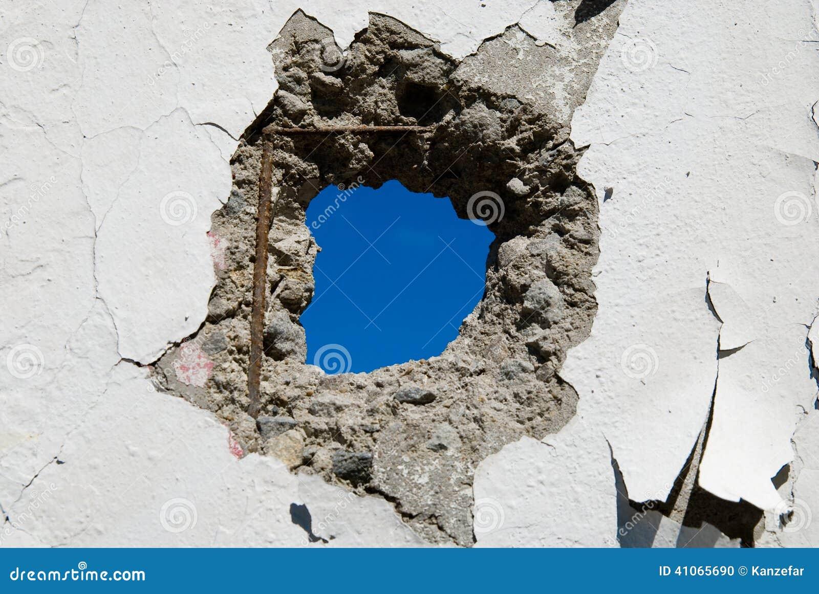 Combler un trou dans un mur voila des photos de ce que - Comment boucher un trou dans un mur ...