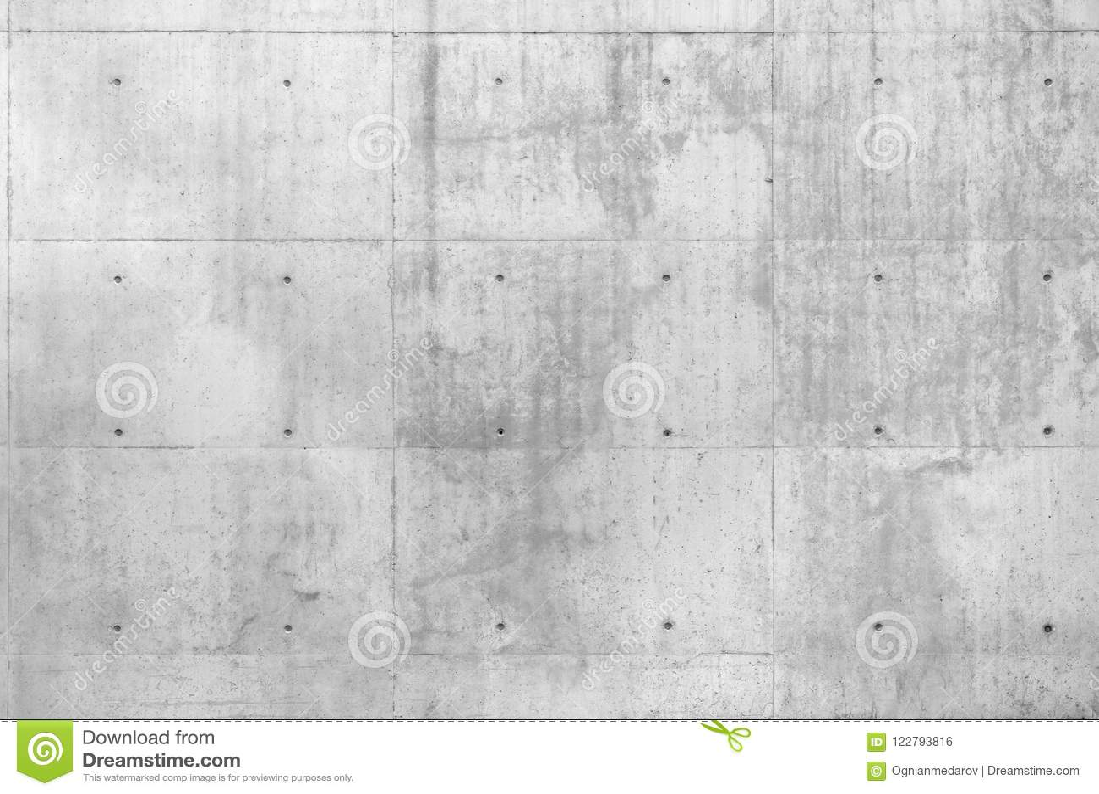 Mur en béton cru de Beton