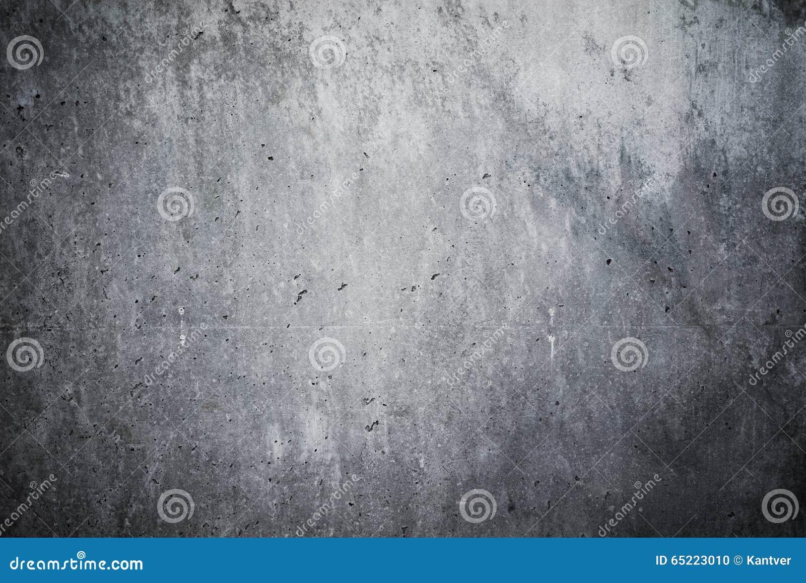 Mur en béton fortement détaillé Fond vide