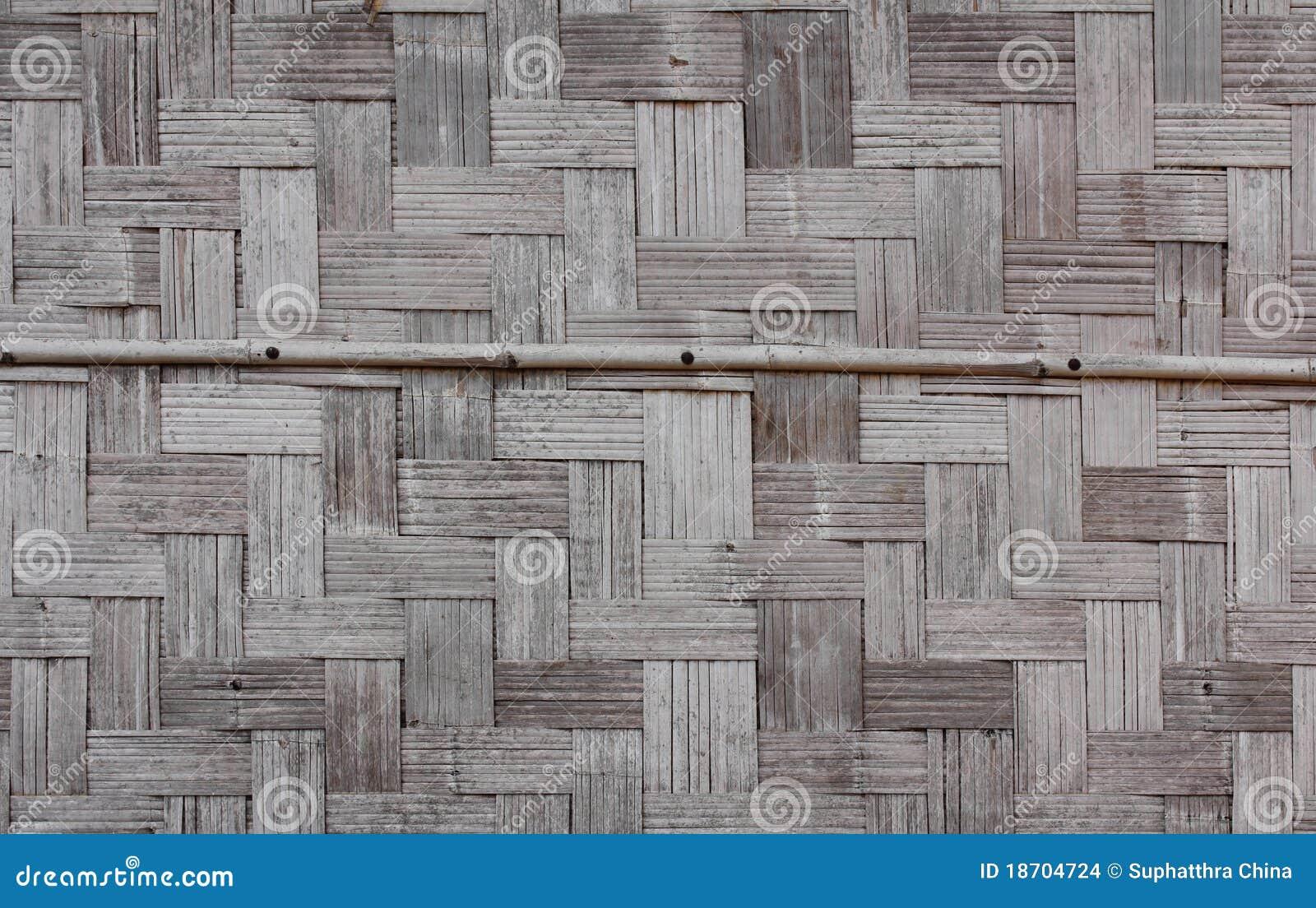 mur en bambou de maison photo stock image du laos bois. Black Bedroom Furniture Sets. Home Design Ideas