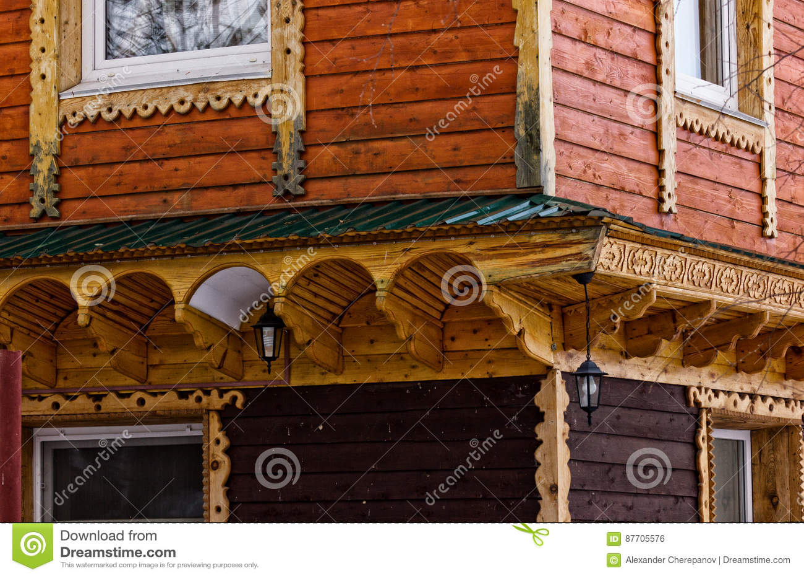 Mur en bois de bâtiment d une vieille maison