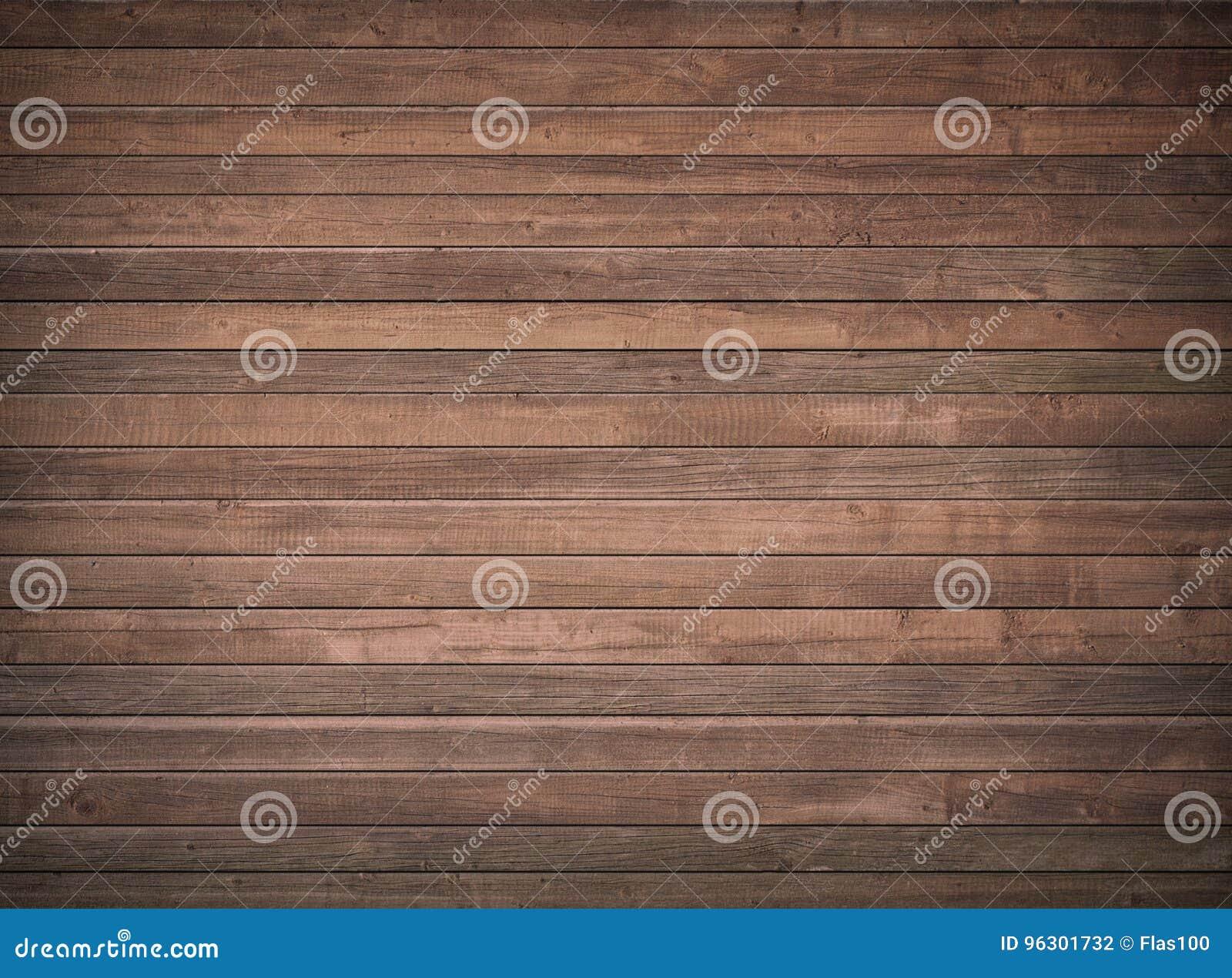 Mur en bois de Brown, table, surface de plancher Texture en bois foncée
