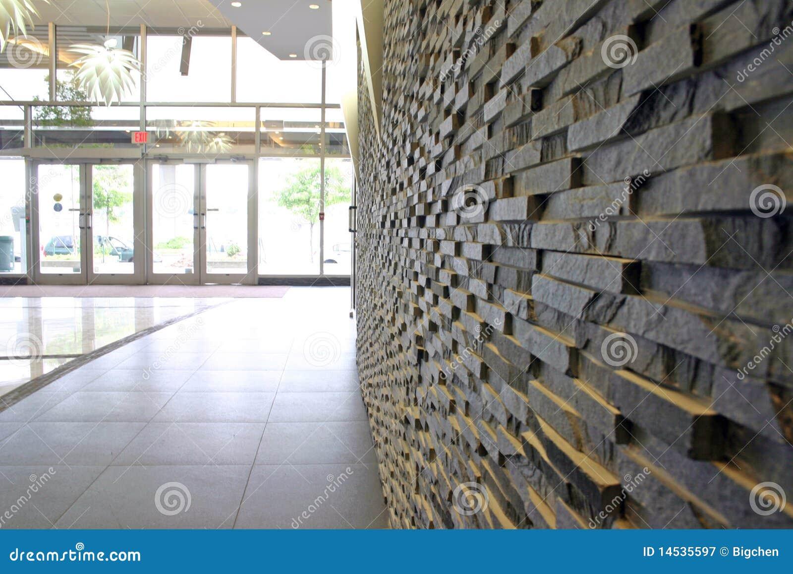 Mur En Pierre Moderne