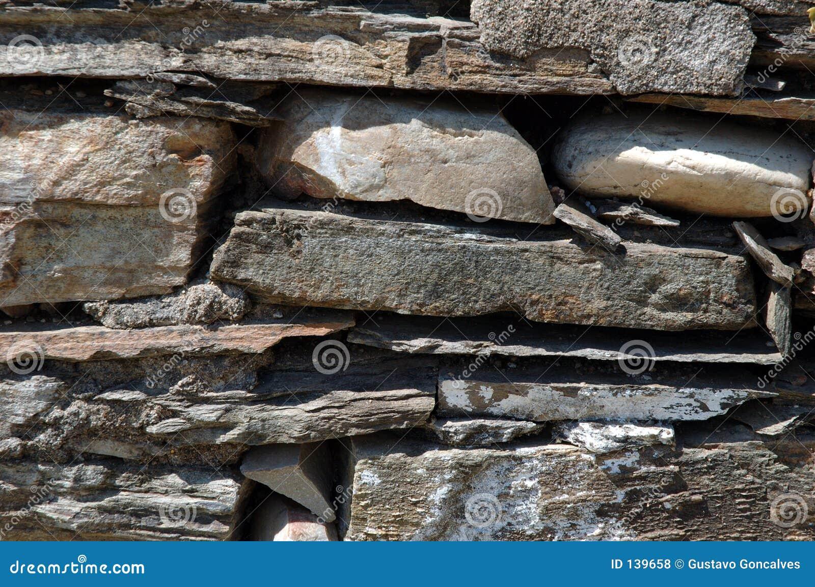 Mur en pierre de schiste photos libres de droits image - Pierre de schiste ...