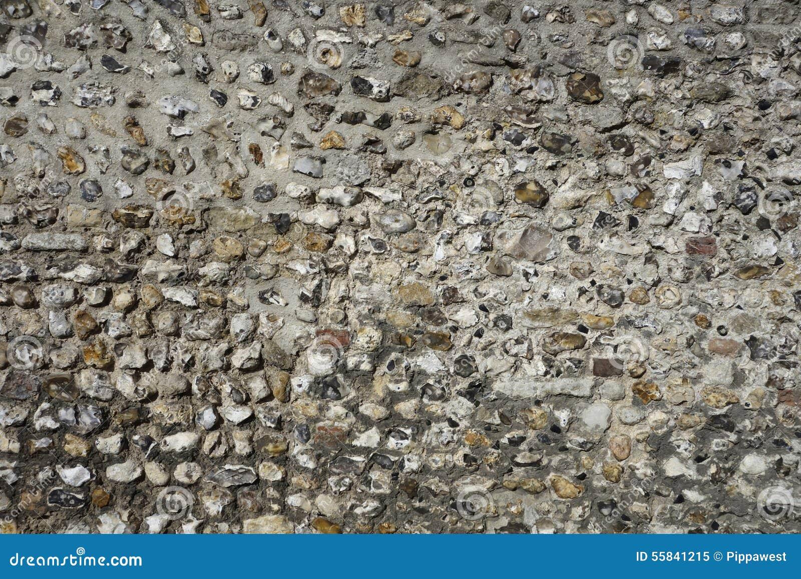 mur en pierre de silex anglais image stock image 55841215. Black Bedroom Furniture Sets. Home Design Ideas