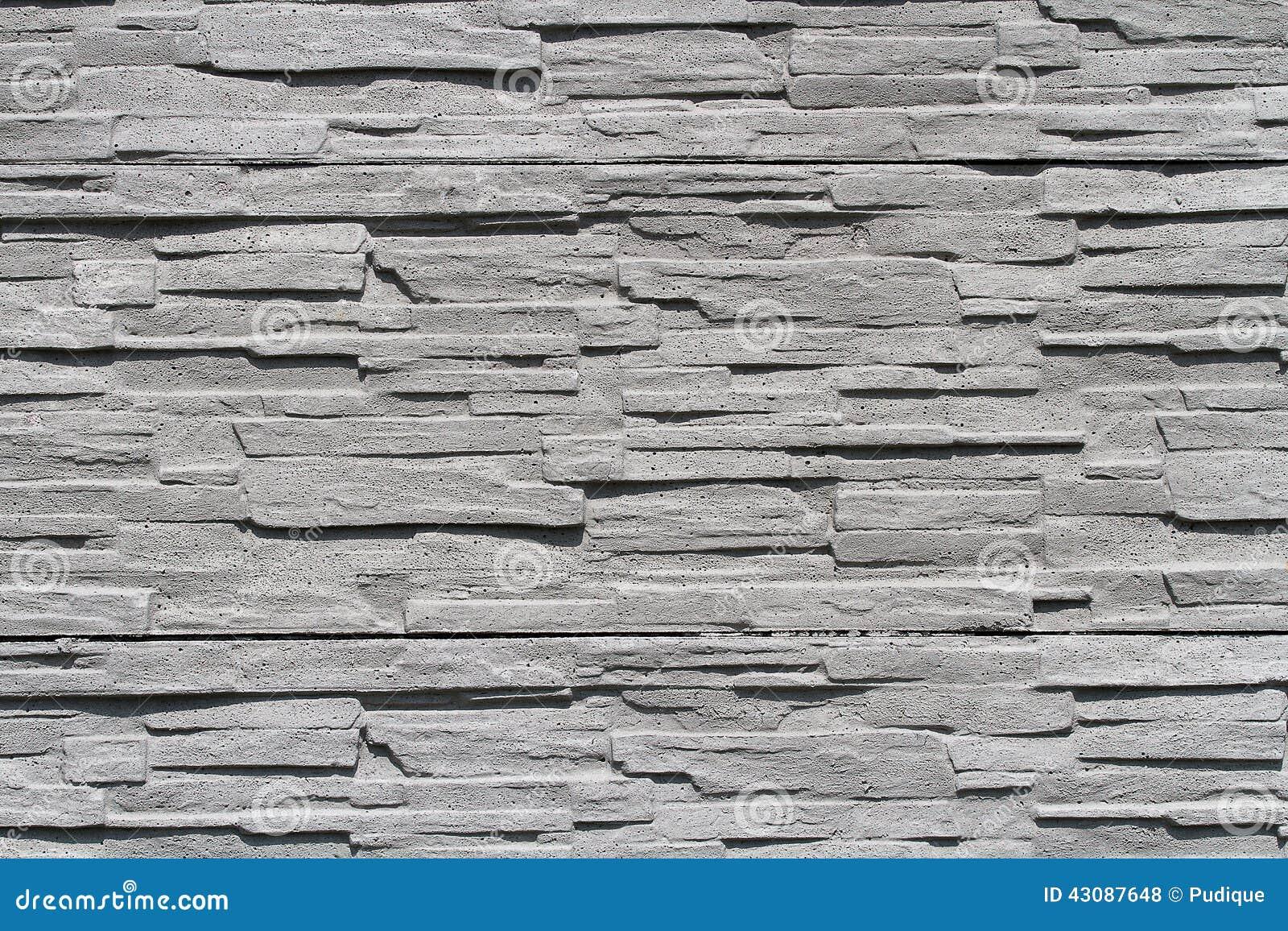 mur en pierre gris photo stock image 43087648. Black Bedroom Furniture Sets. Home Design Ideas