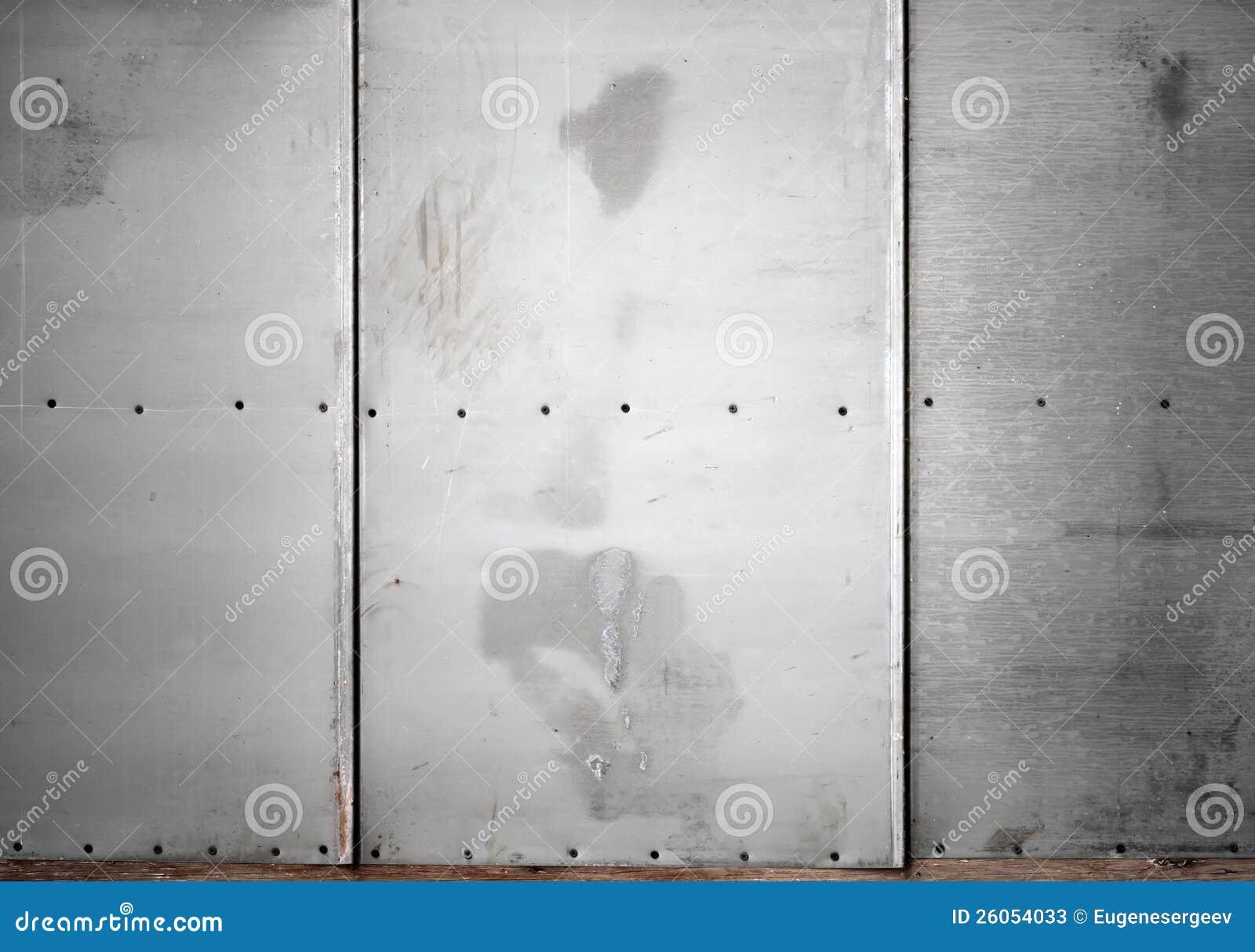 Mur Gris En Métal Avec La Texture De Fond De Vis Image stock - Image ...