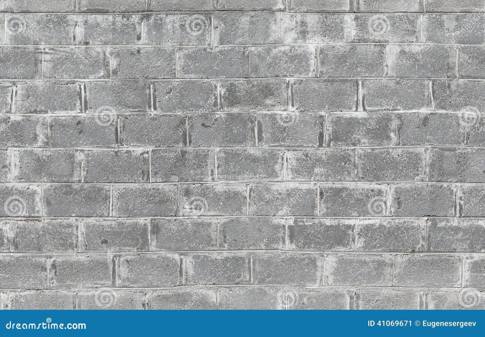 Mur Gris Fait De Blocs De B u00e9ton Texture Sans Joint Photo stock   Image  41069671