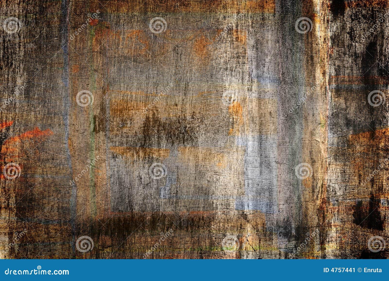 Mur grunge