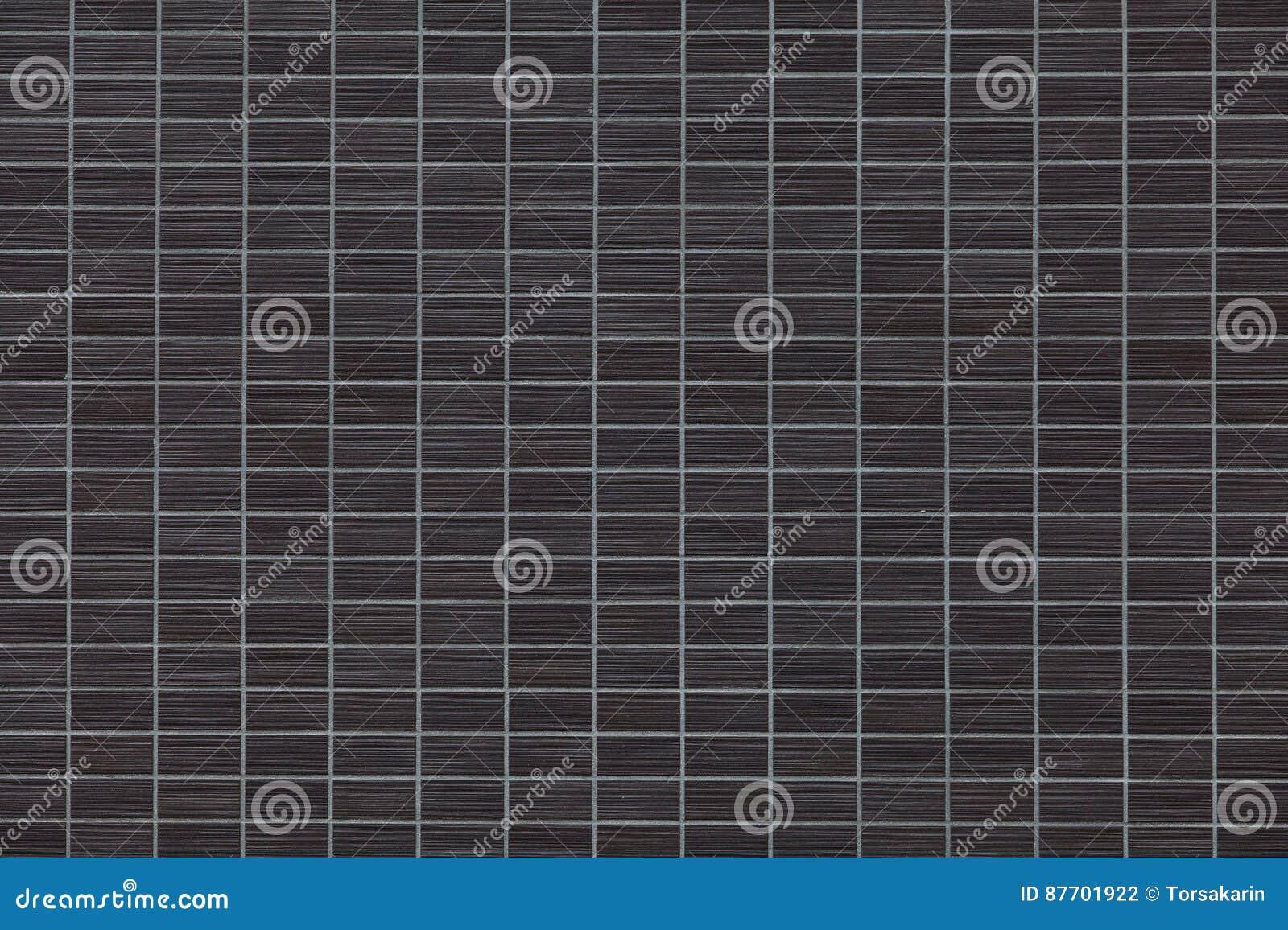 Mur noir de tuile de brique