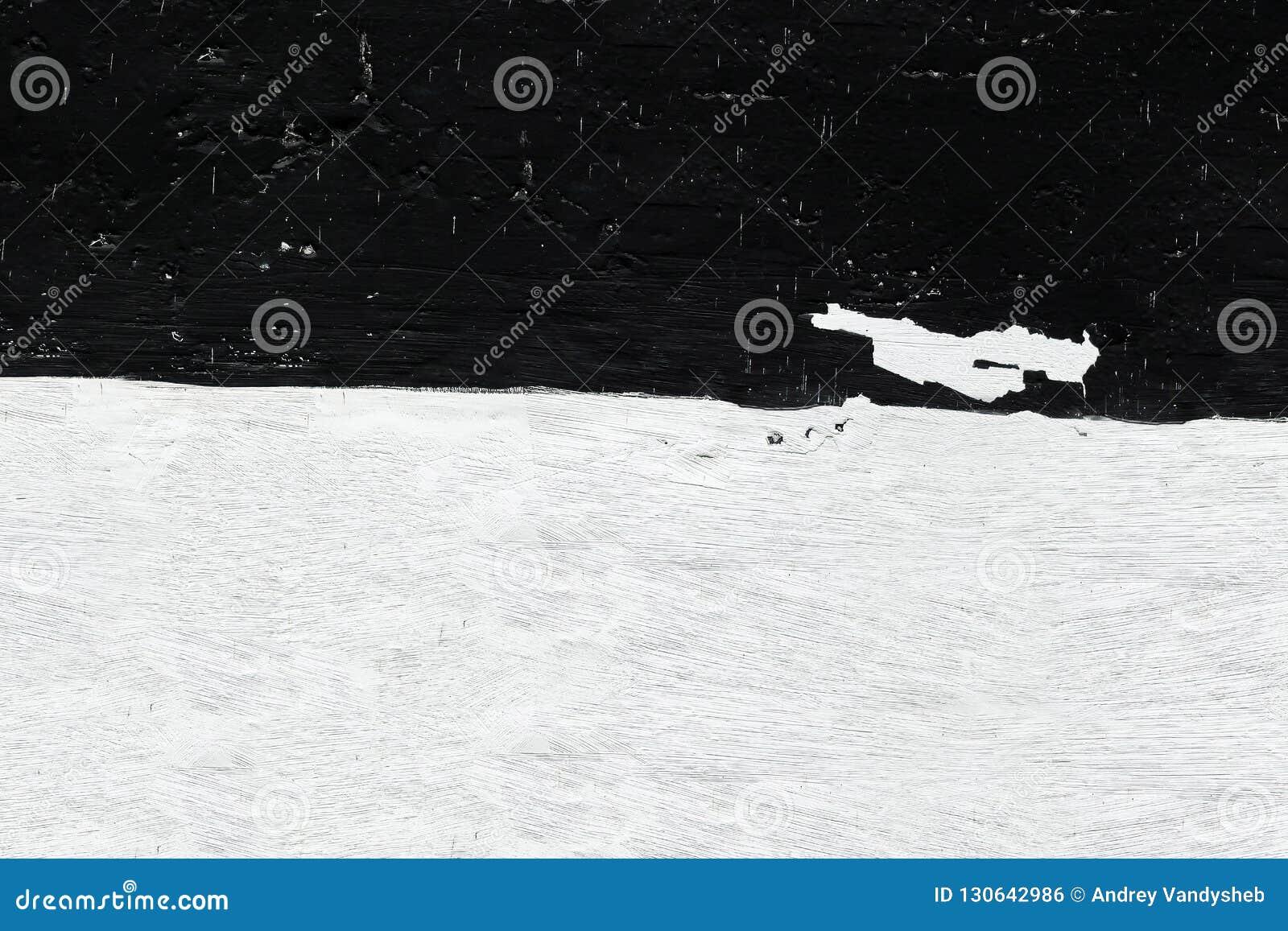 Mur Noir Et Blanc Sous Forme De Drapeau Plan Rapproché De