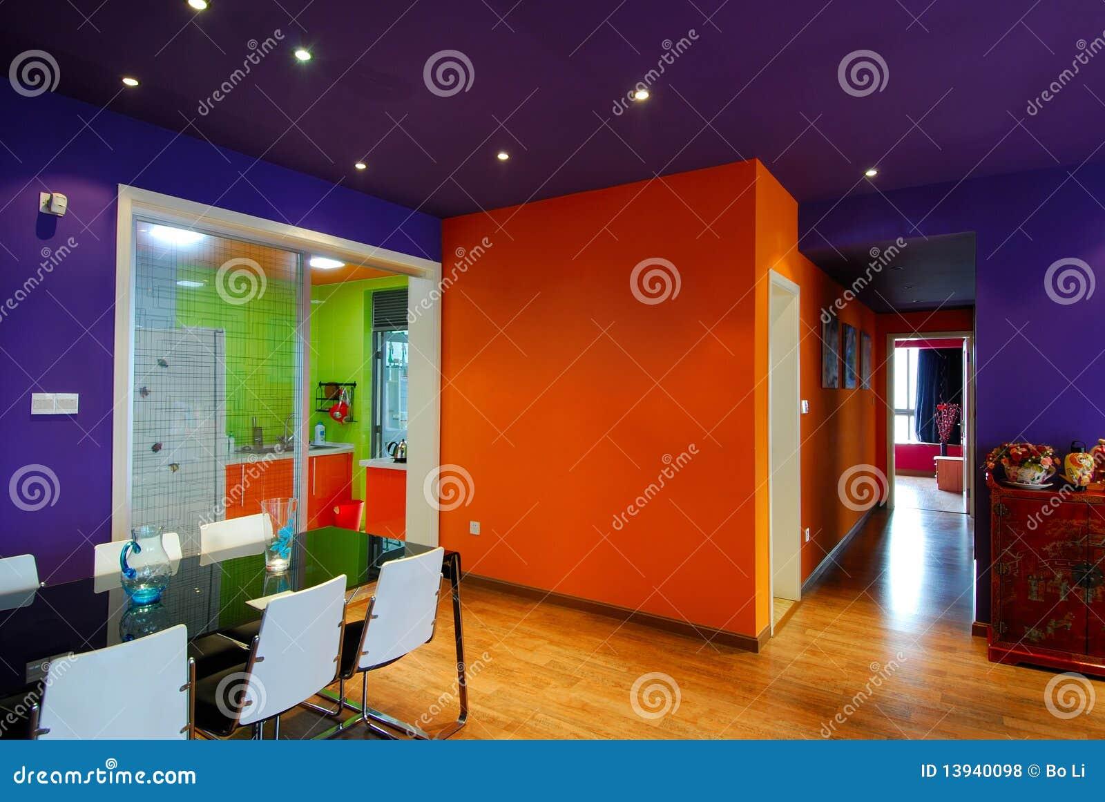 mur orange photos libres de droits image 13940098. Black Bedroom Furniture Sets. Home Design Ideas