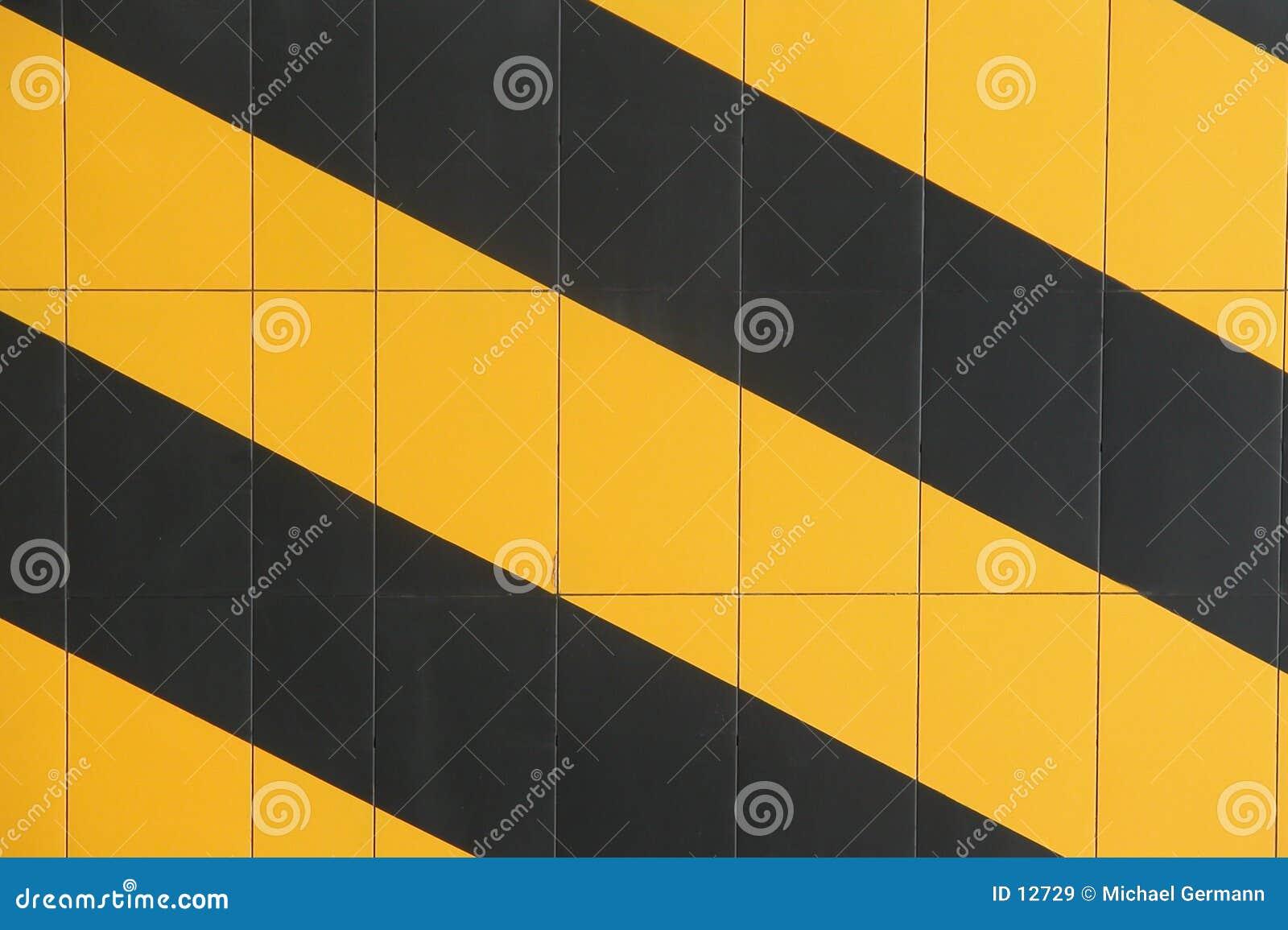 Mur rayé