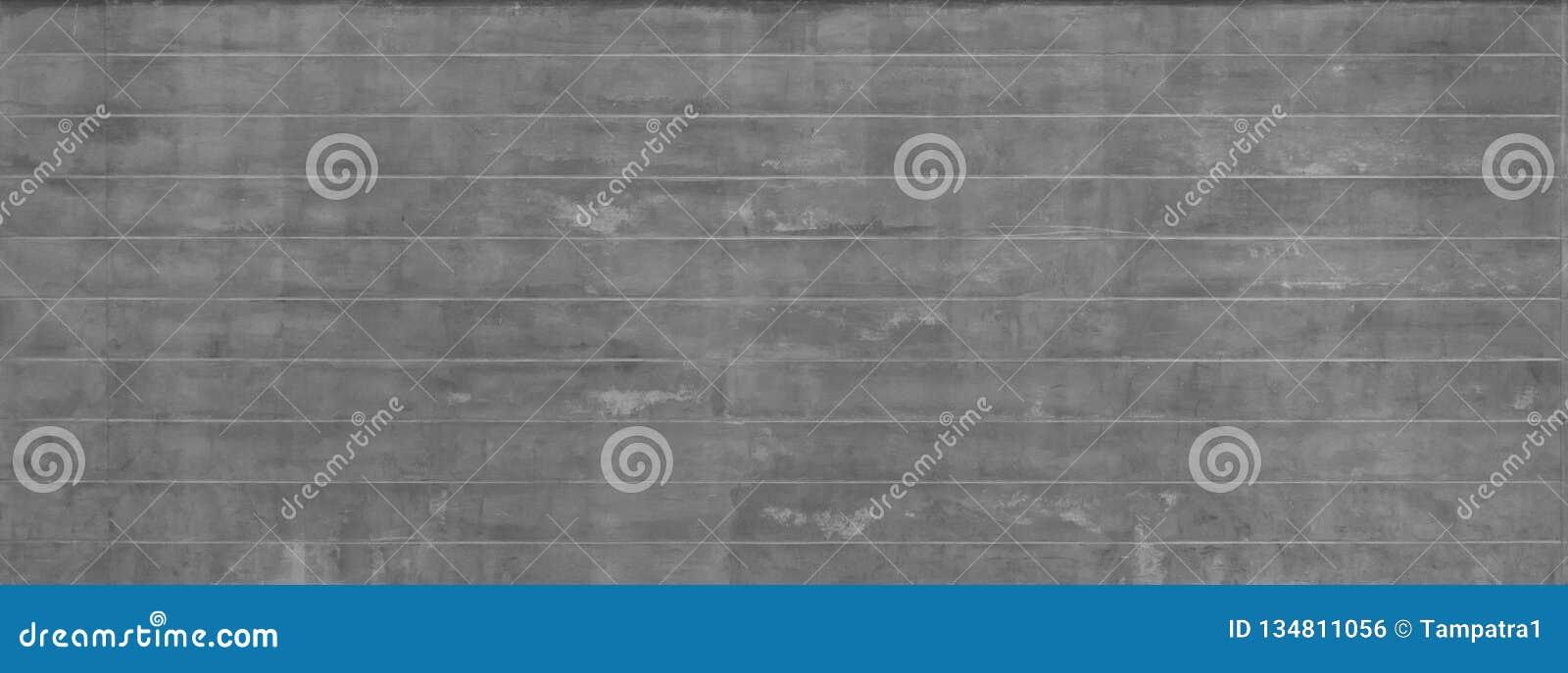 Mur rayé de ciment concret gris rugueux ou parqueter la texture de surface de modèle Plan rapproché de matériel extérieur pour la