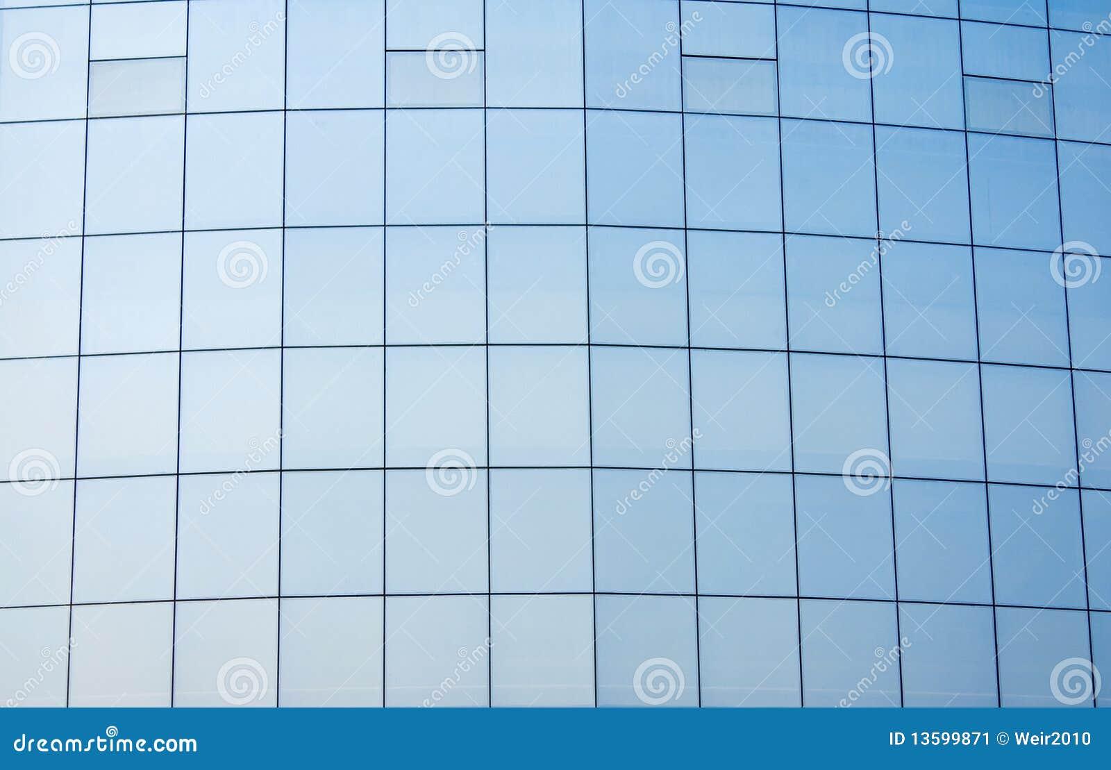 mur rideau en verre image stock image 13599871. Black Bedroom Furniture Sets. Home Design Ideas