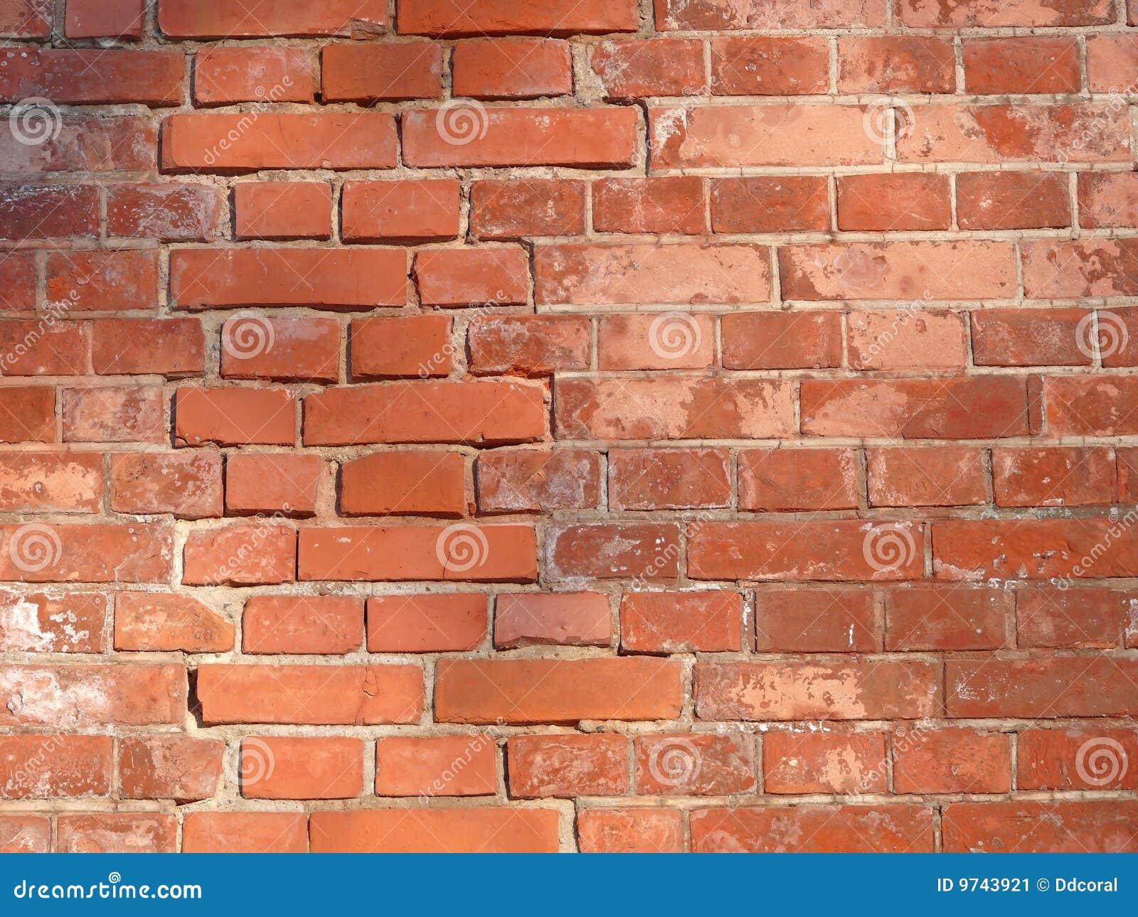 mur rouge image stock image du blocs texture brique 9743921. Black Bedroom Furniture Sets. Home Design Ideas