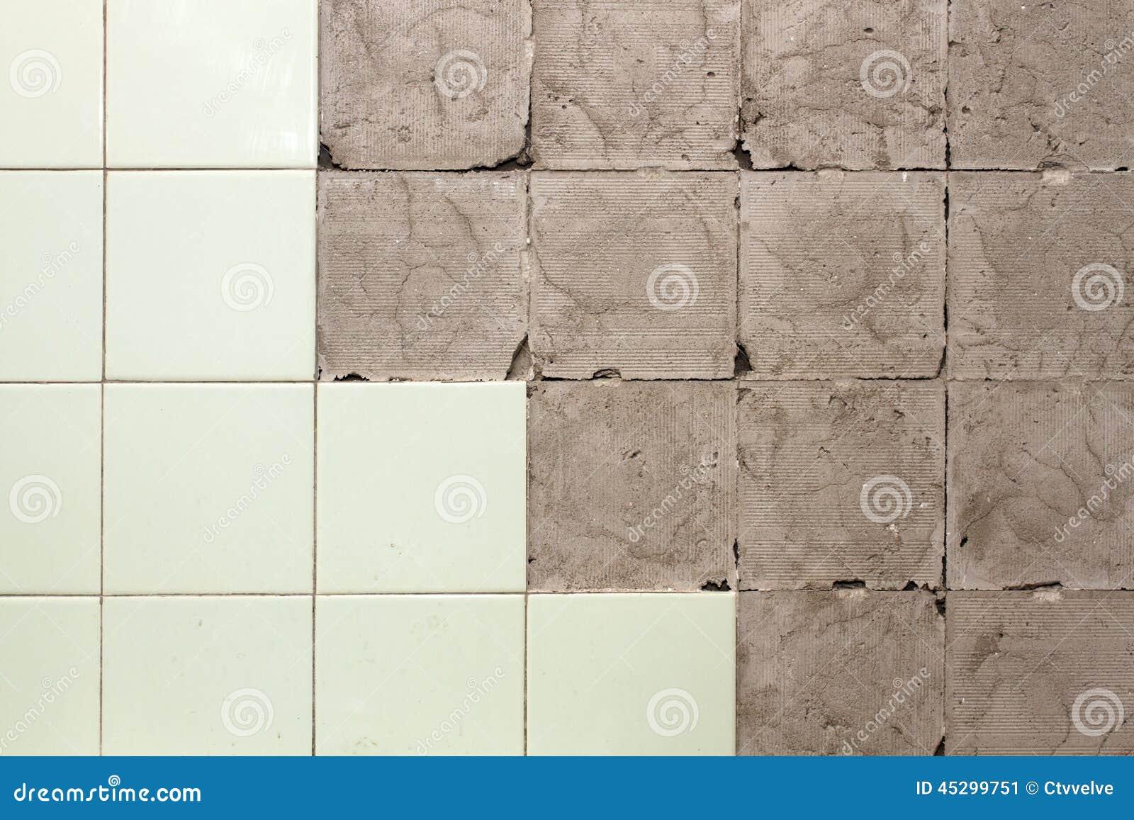 Mur sans tuiles