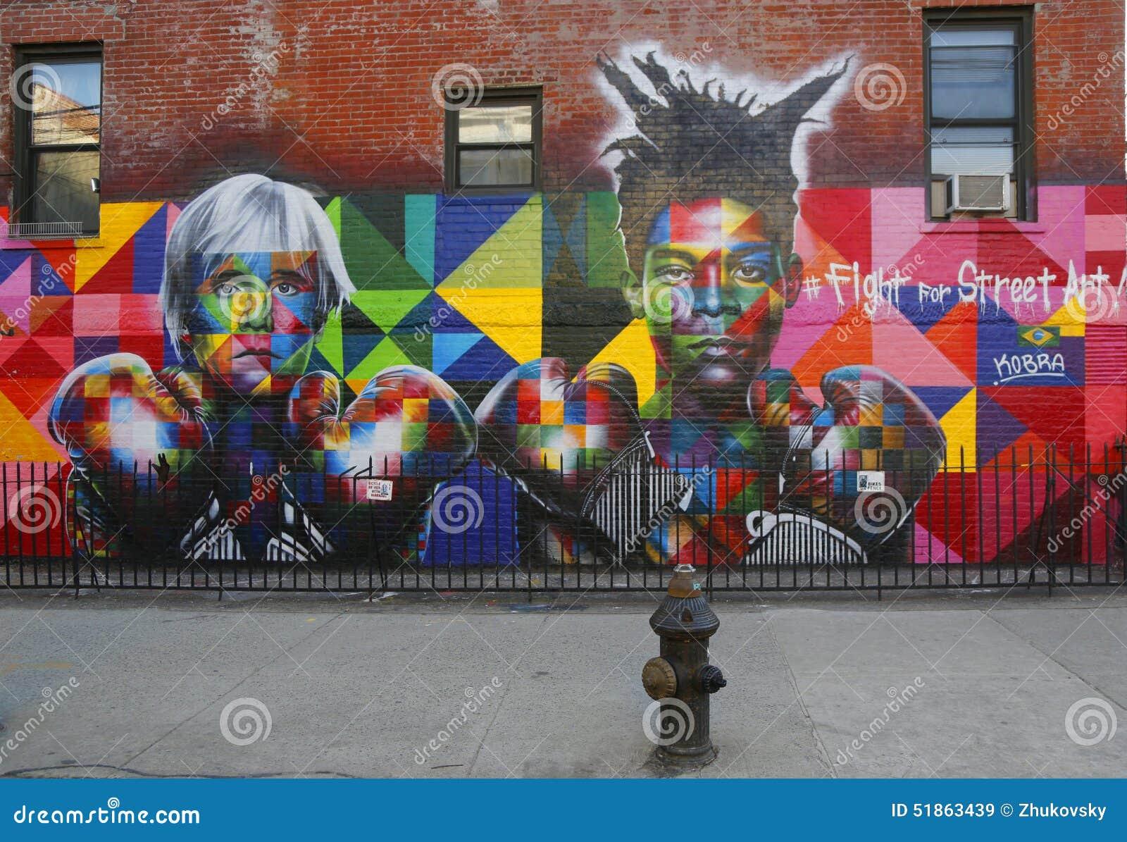 Mural art by brazilian mural artist eduardo kobra recruits for Average cost of mural painting