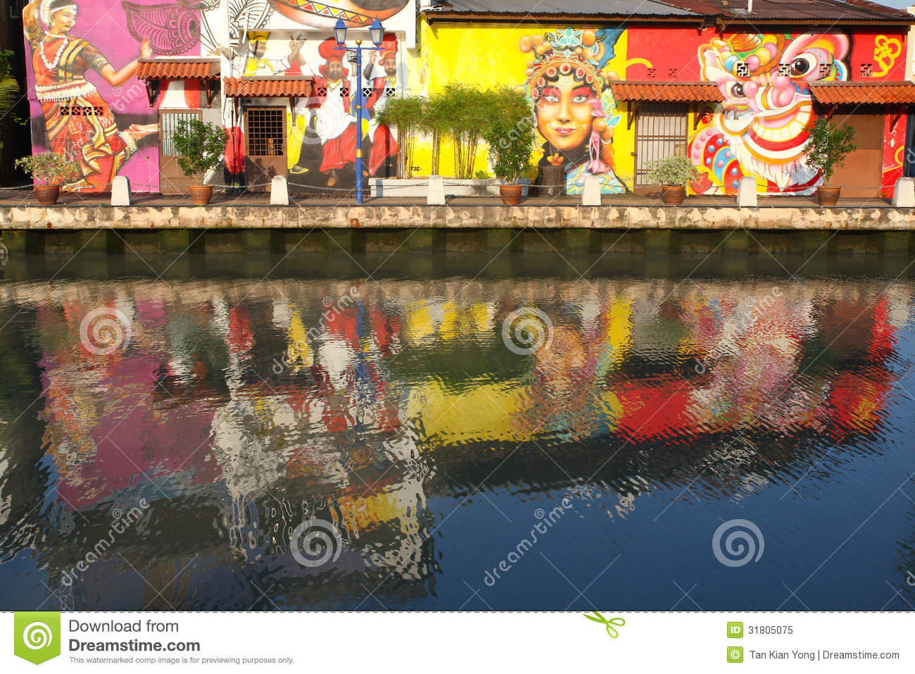 Mural paintings in melaka editorial image image 31805075 for Mural 1 malaysia