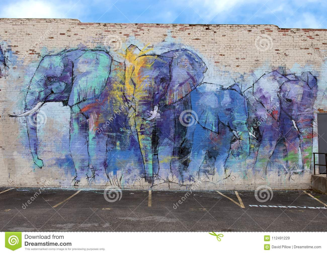 42 Mural Project Deepellumphants By Adrian Torres Deep Ellum