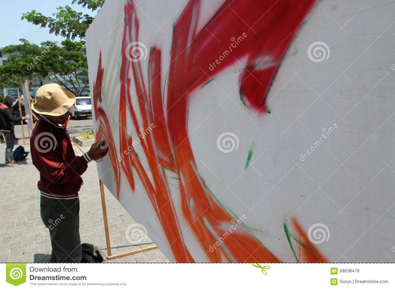 Mural editorial stock photo image 58638478 for Mural indonesia