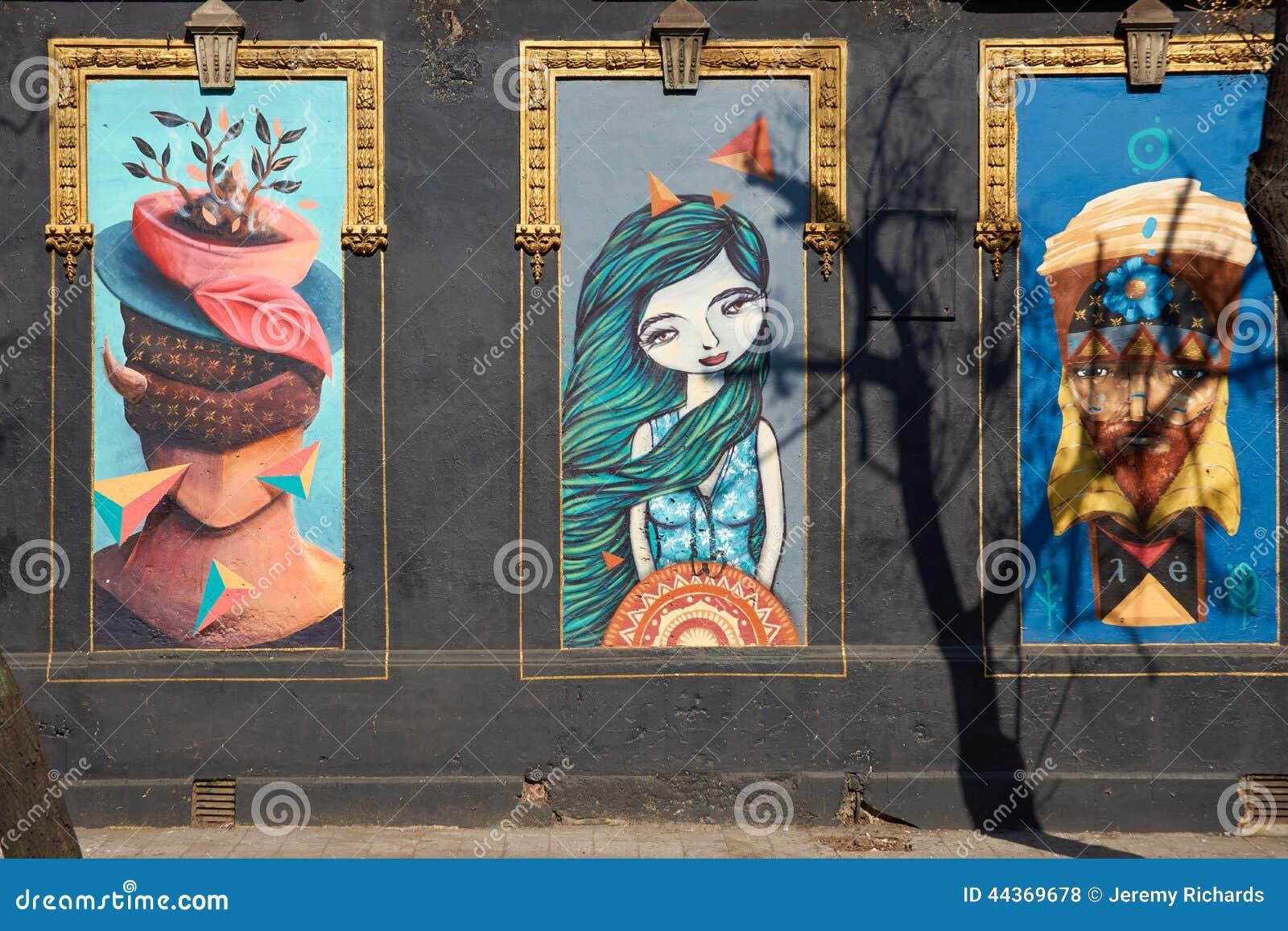 Murali del quartiere ispanico Yungay