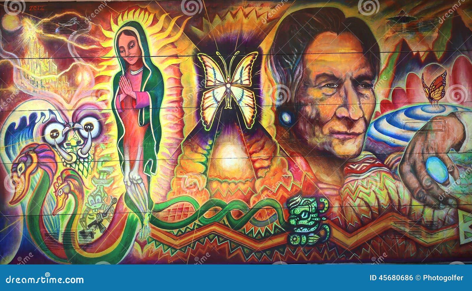 Image gallery mexican murals for David alfaro siqueiros mural tropical america