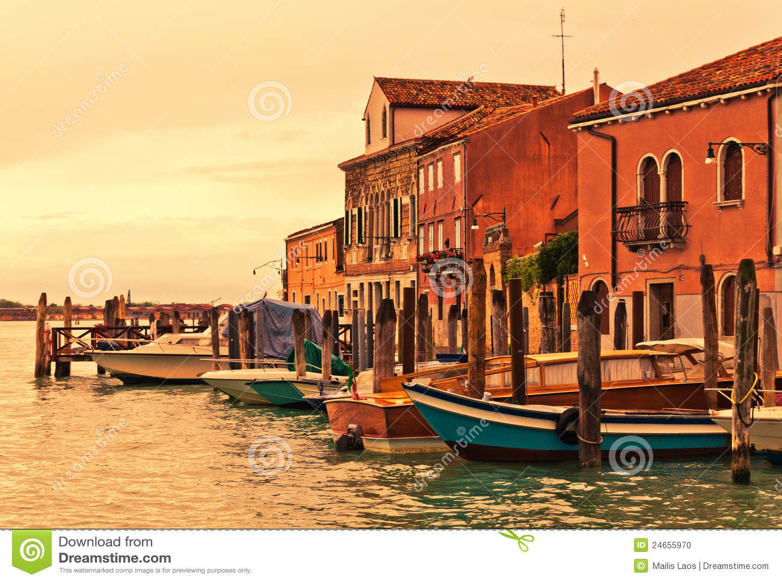Murano Βενετία βαρκών