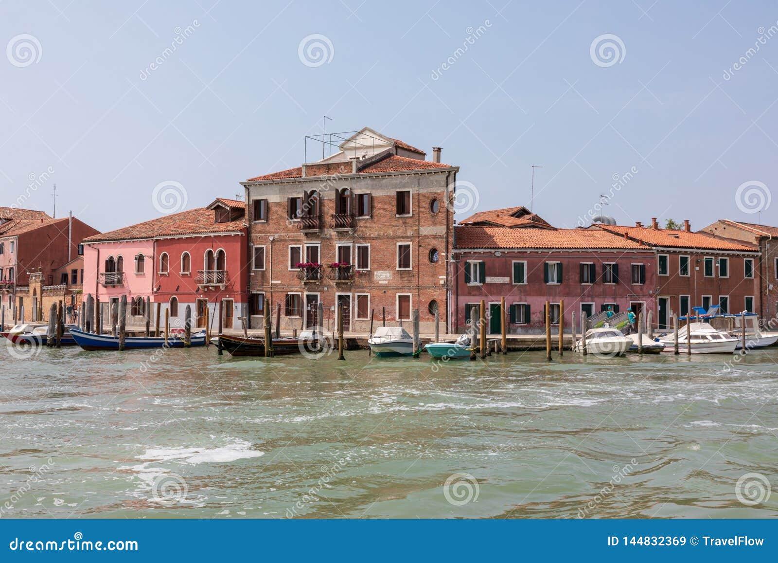 Πανοραμική άποψη του νησιού Murano