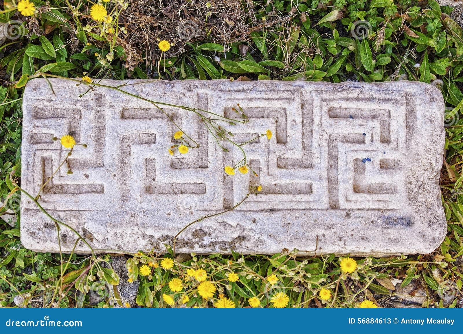 Muratura di marmo antica