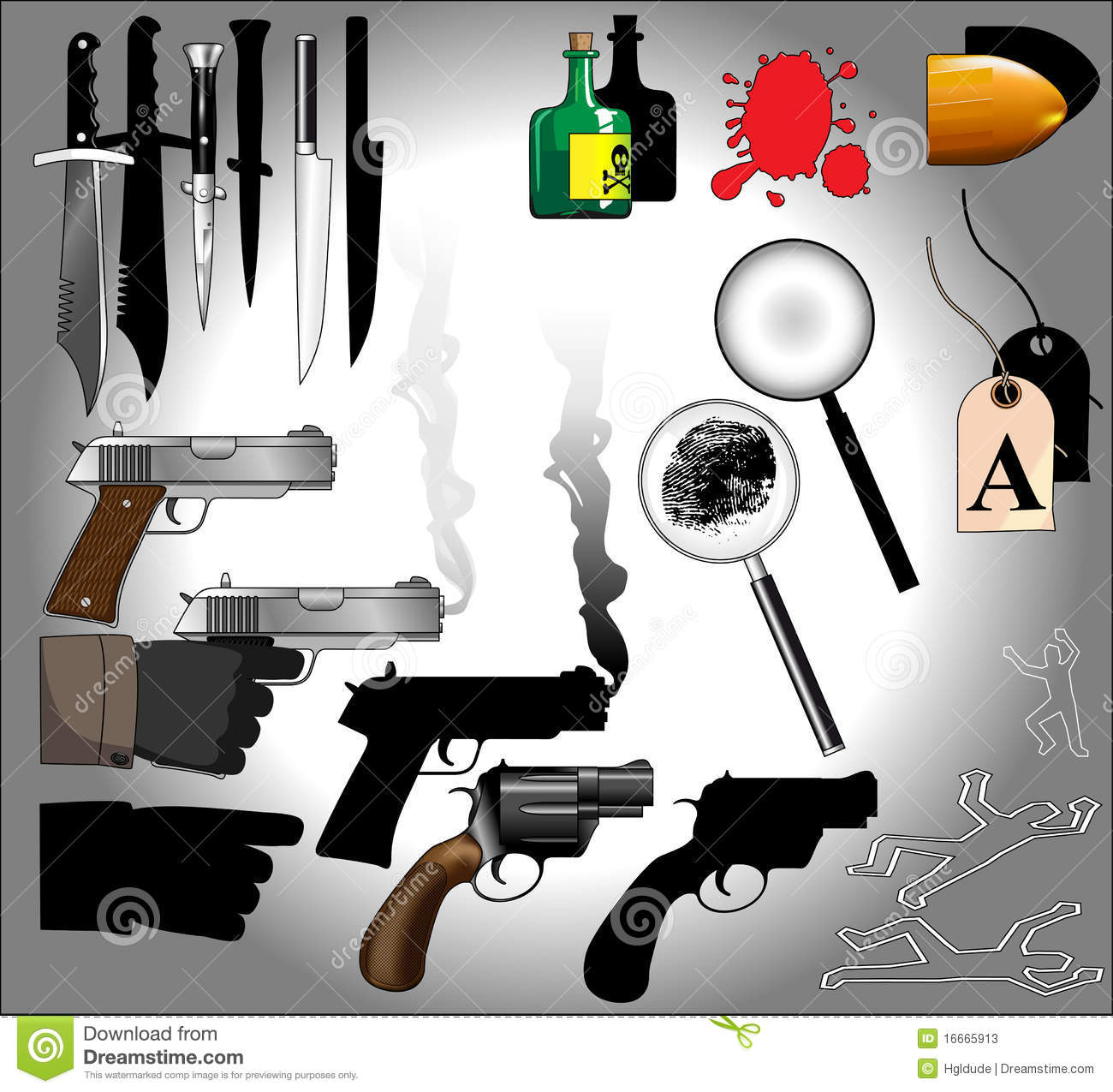Murder mystery elements